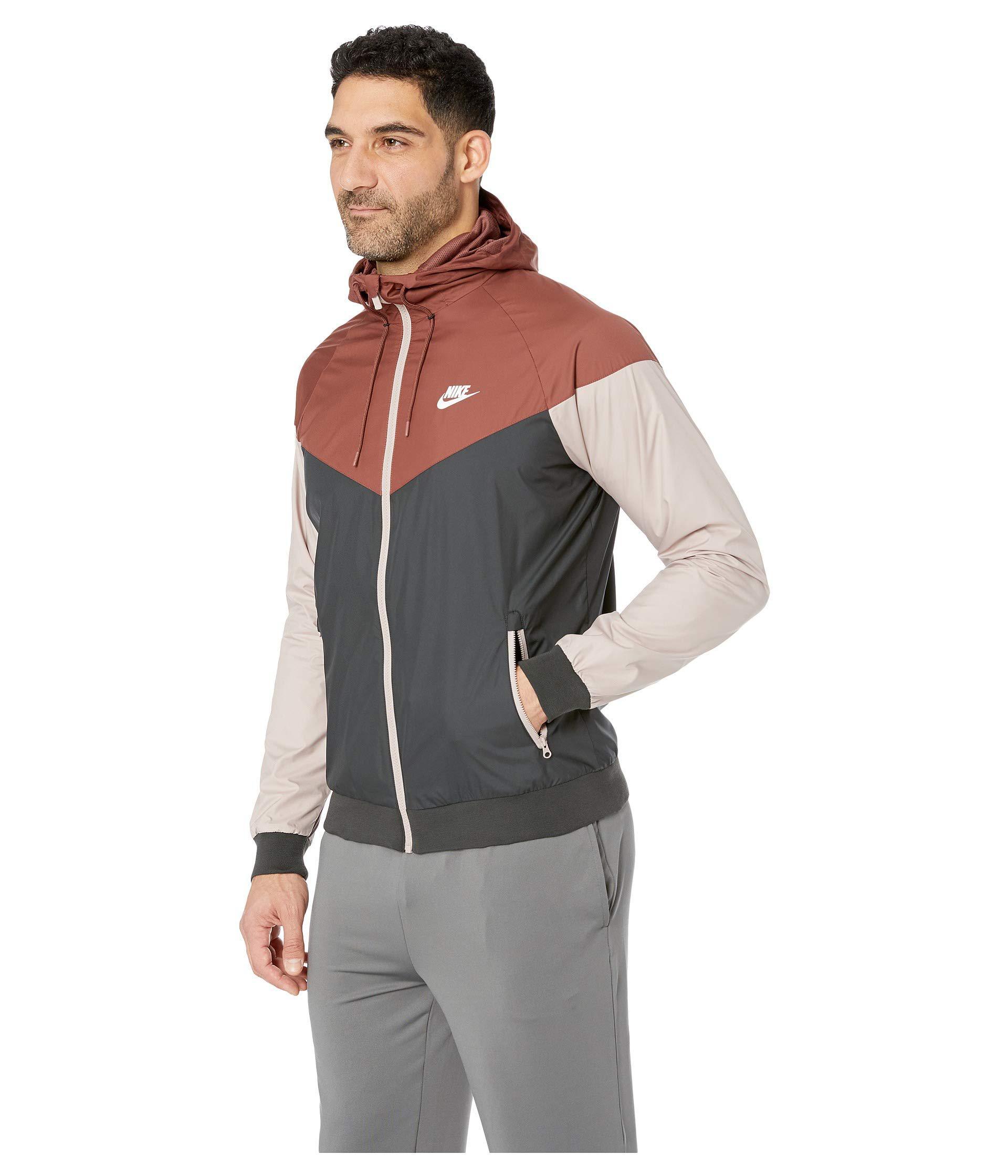 747551fed8 Lyst - Nike Sportwear Windrunner Jacket (red Sepia black diffused ...