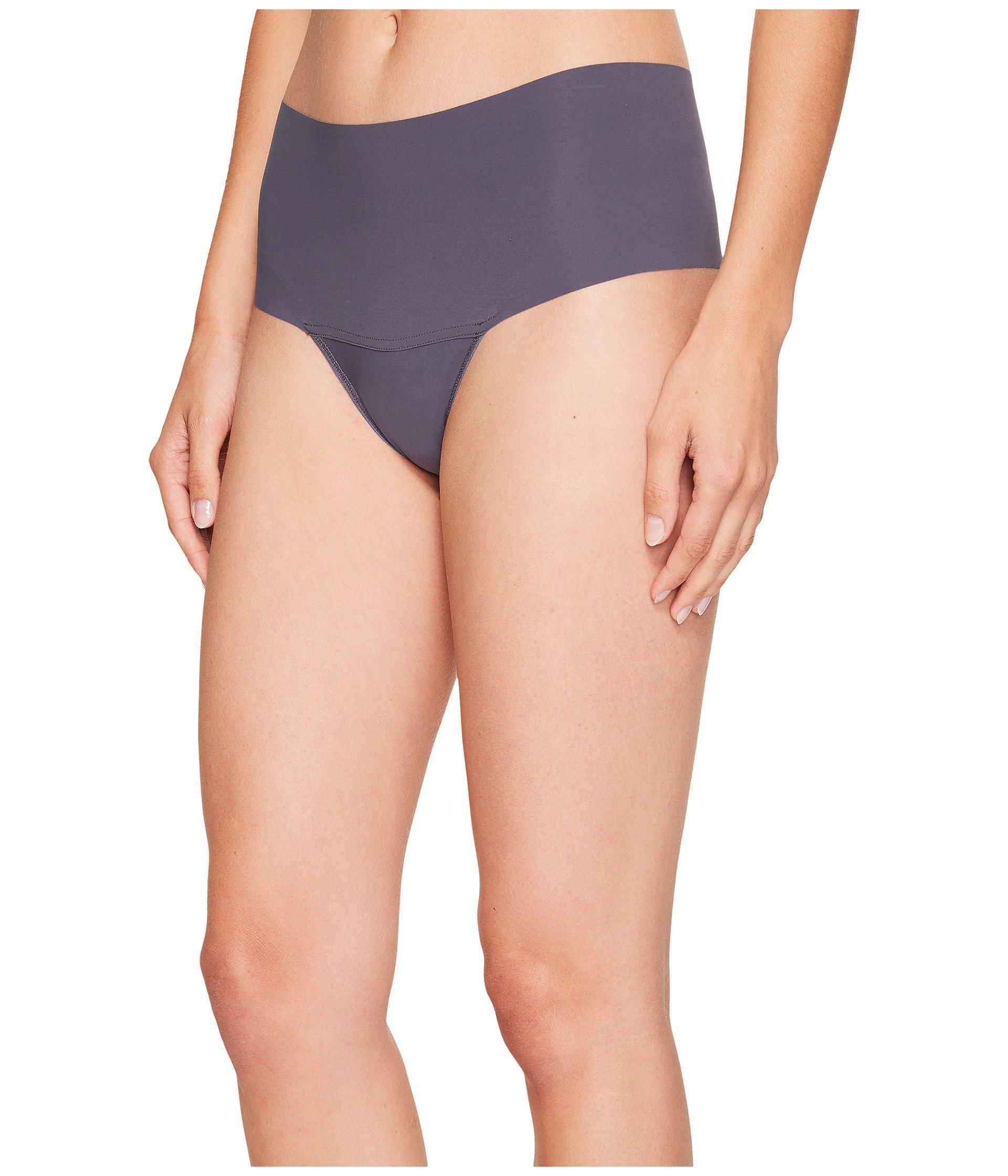 40552053522 Lyst - Hanky Panky Bare(r) Godiva Hi-rise Thong (black) Women s Underwear  in Gray