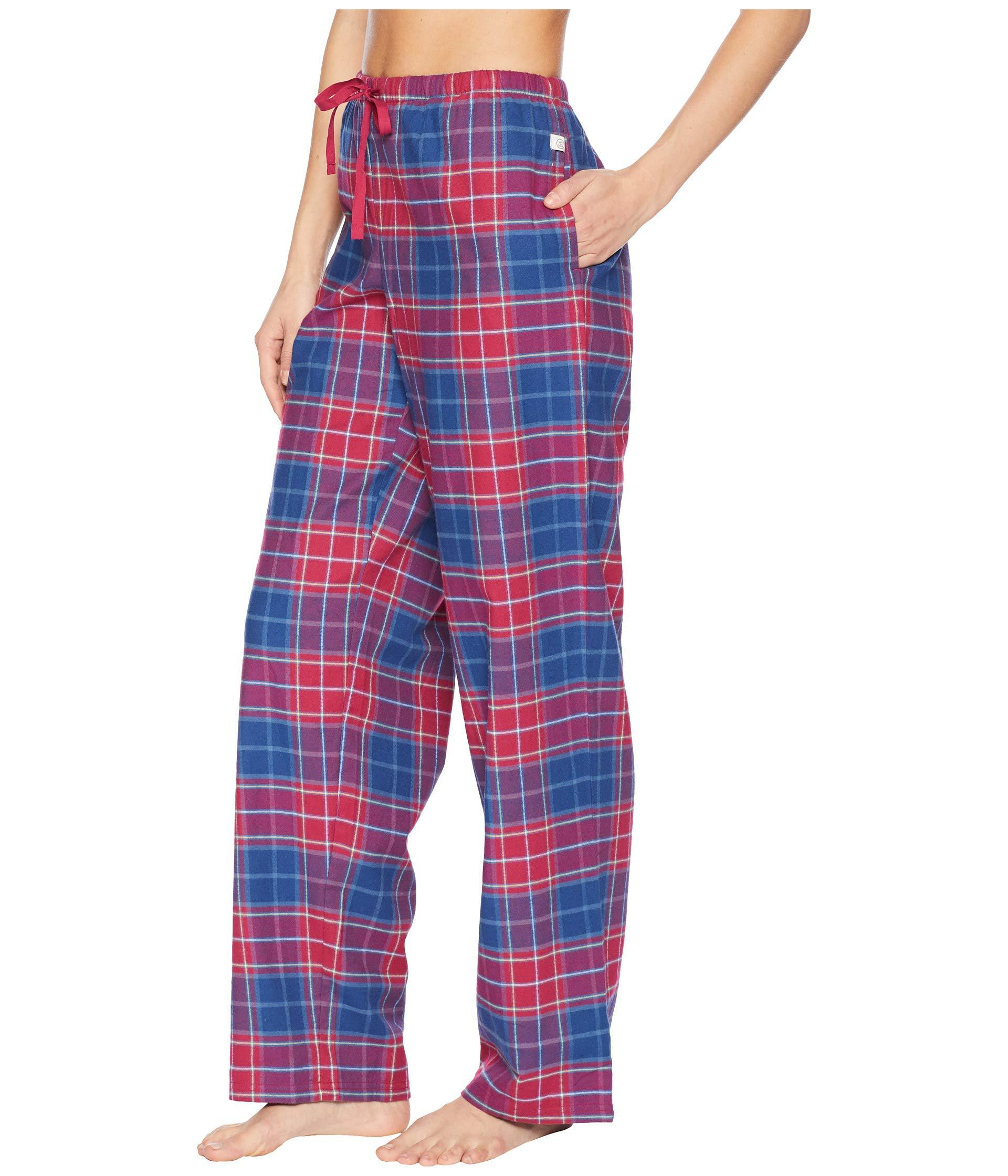 1ca60a40540 Lyst - Life Is Good. Classic Sleep Pants (powder Blue 1) Women s Pajama in  Red