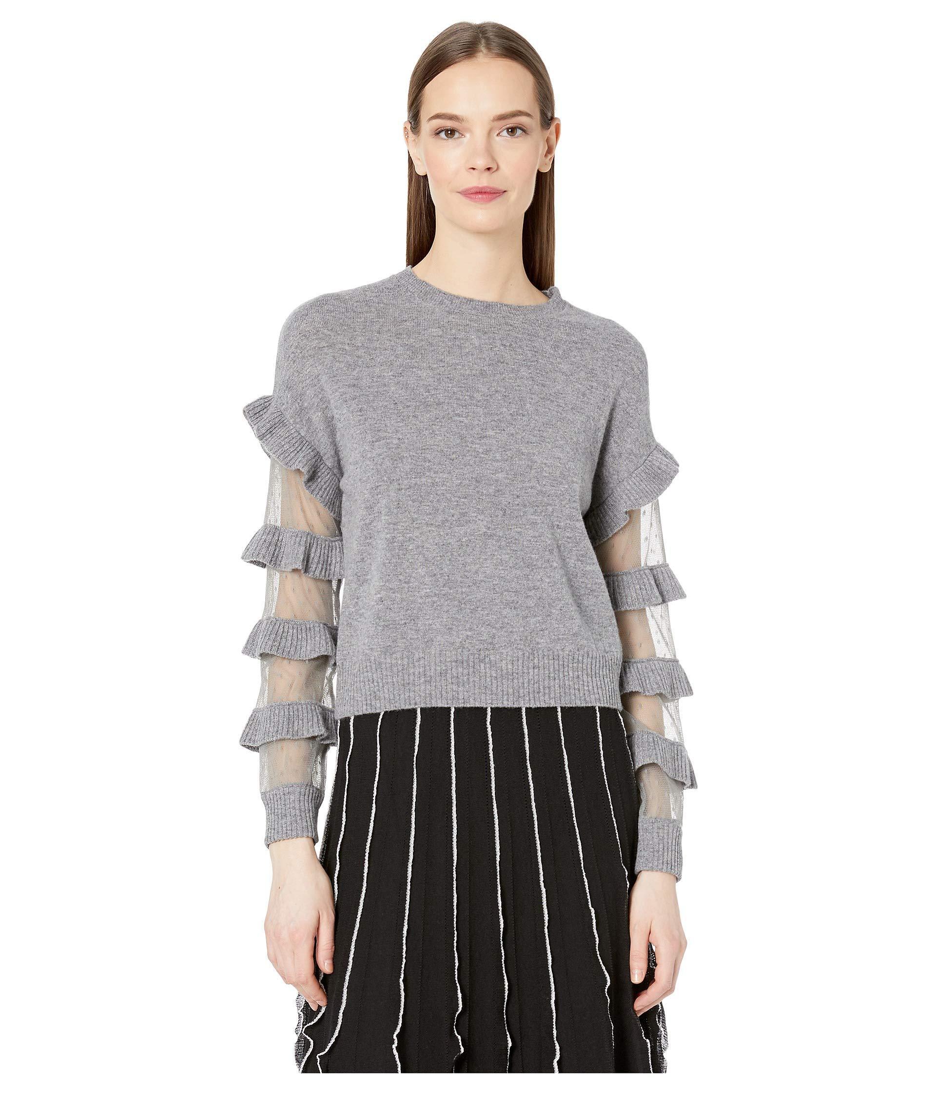2f3b15512e0 Lyst - RED Valentino Dress Shirt Rr3kca35lqr (grey) Women s Clothing ...