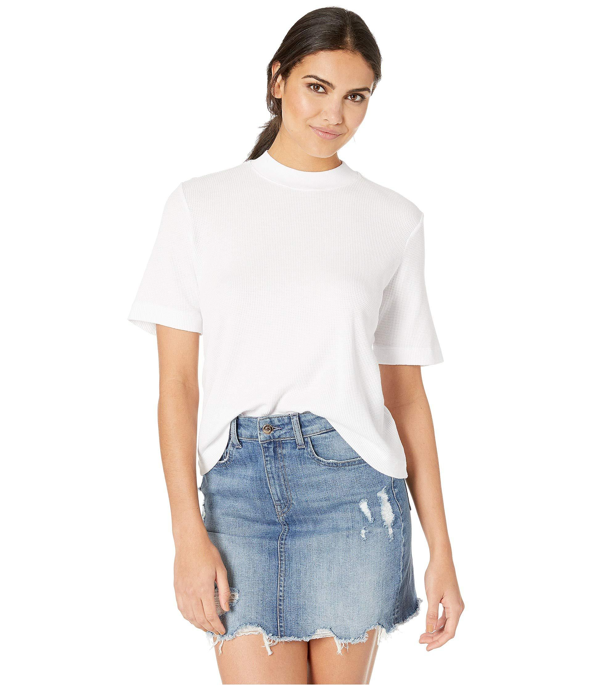 aba2dbc2eb33 Lyst - AG Jeans Yoni Tee (true White) Women s T Shirt in White
