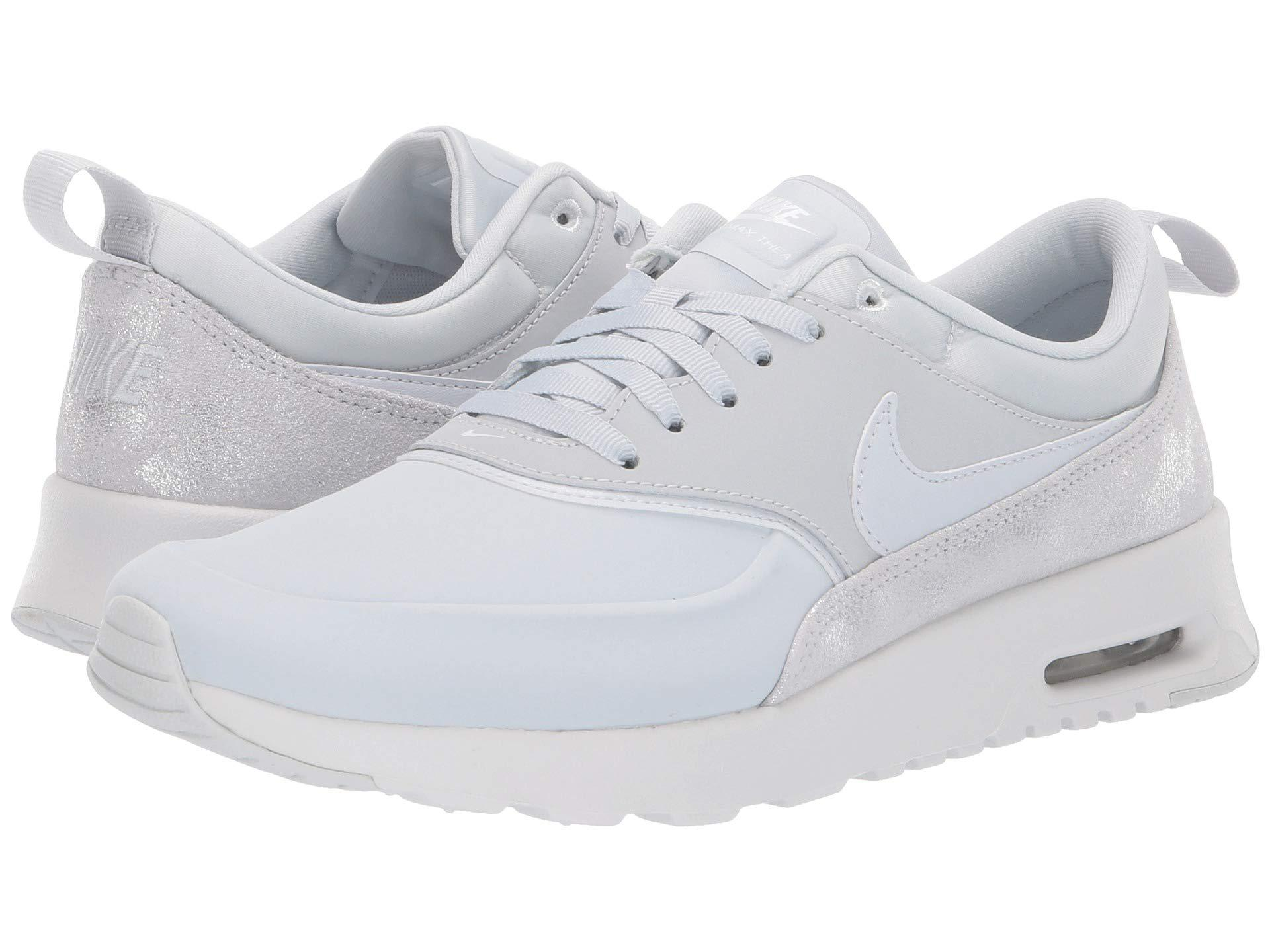 huge discount 3733a e9656 Nike. Air Max Thea Premium (pure Platinum pure Platinum summit White) Women s  Shoes