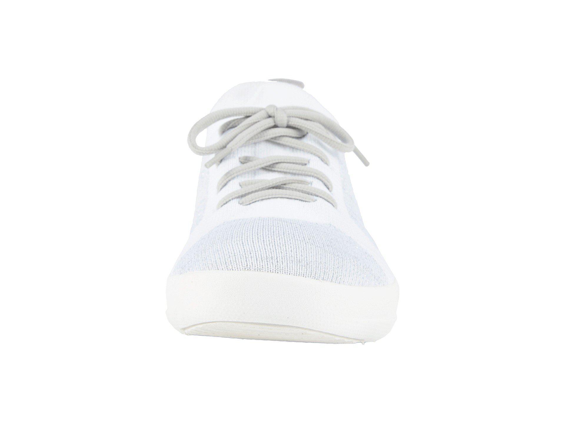df238ed09 Lyst - Fitflop F-sporty Uberknit Sneakers (dark Taupe Mix) Women s ...