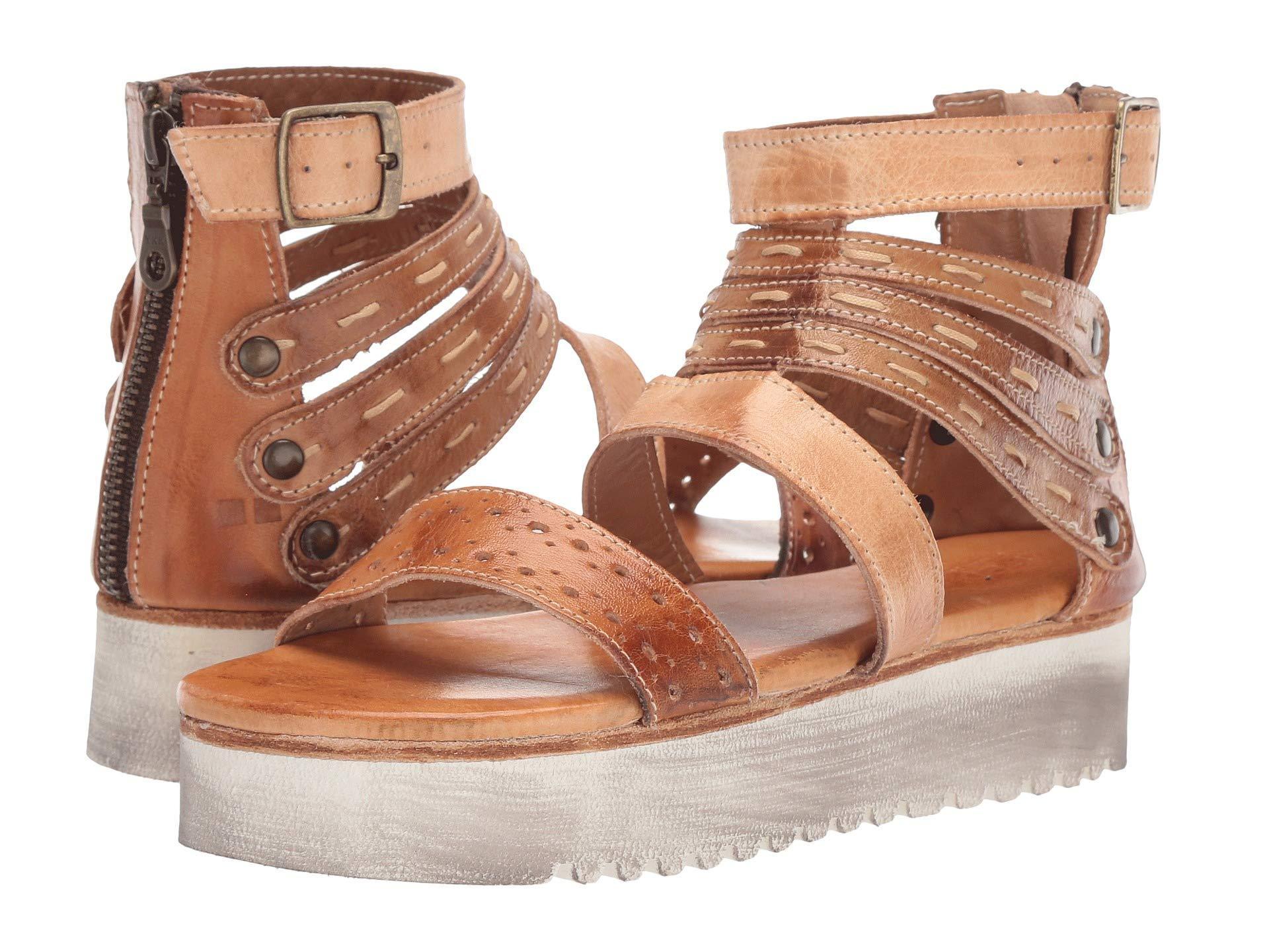 9ed89d34b99adc Lyst - Bed Stu Artemia (bone Mustard tan Rustic) Women s Shoes in Brown