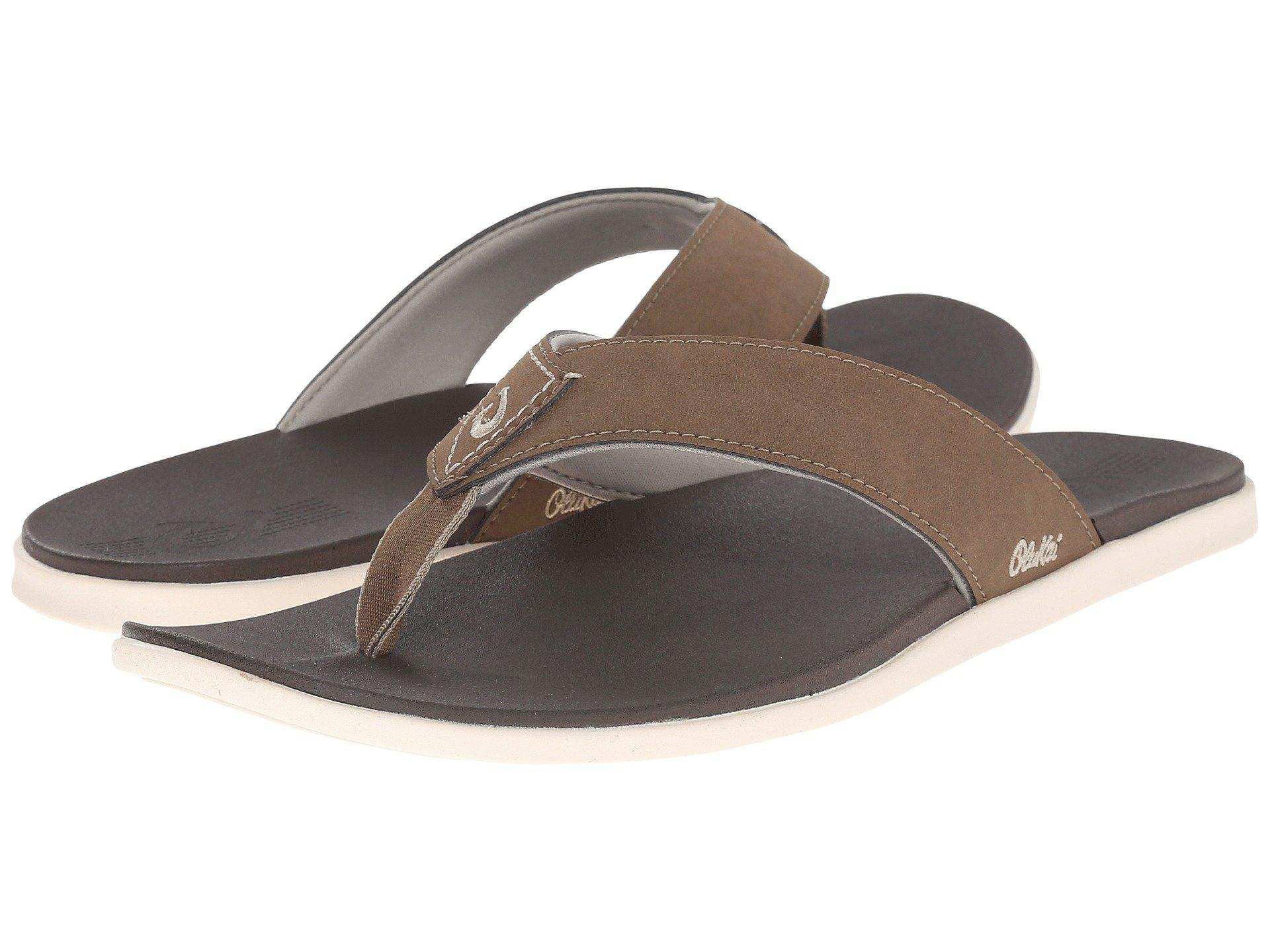 3330d26b5ed6a Lyst - Olukai Holona (mustang dark Java) Men s Sandals in Brown for Men