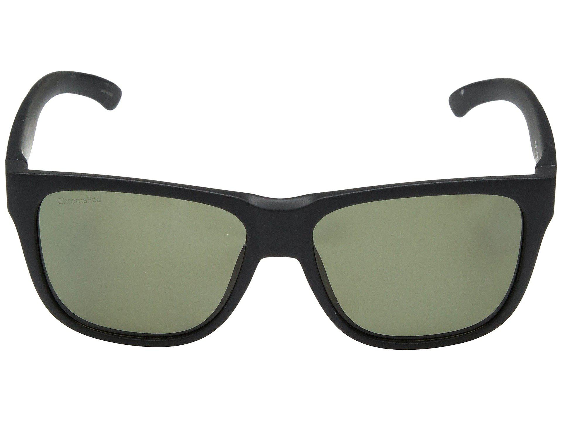 397100501b7 Smith Optics - Lowdown 2 (matte Black gray Green Chromapoptm Polarized Lens)  Athletic. View fullscreen