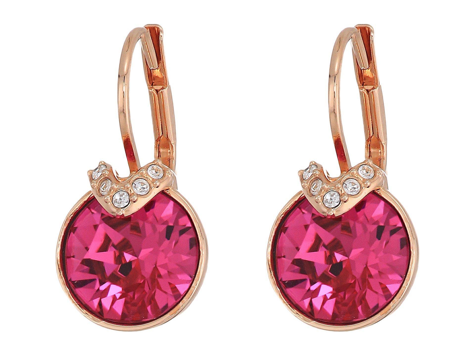 Swarovski Women S Bella V Pierced Earrings