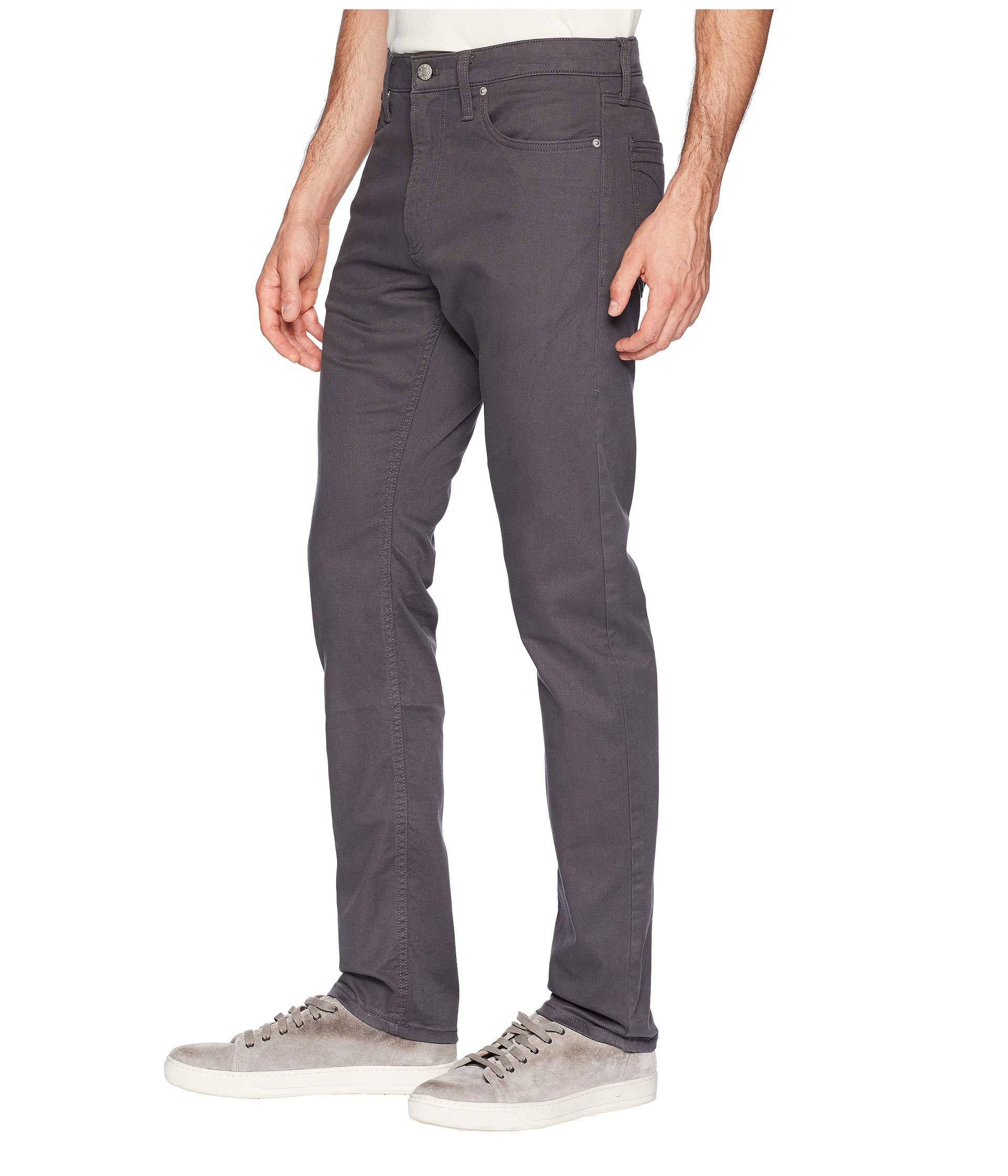 6f9612e3e22b Lyst - Calvin Klein Five-pocket Stretch Twill Pants (black) Men s ...
