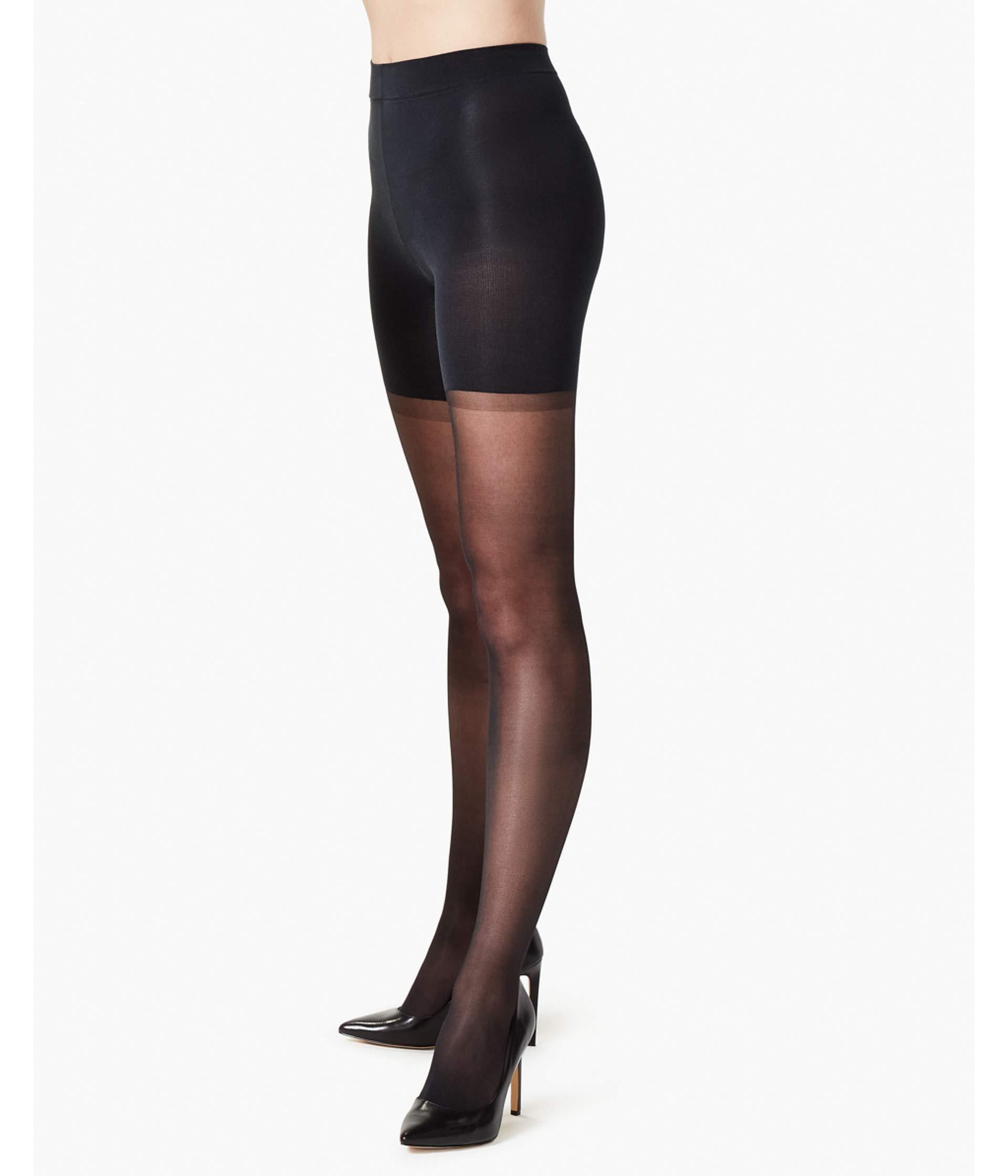 f6bcb9c07 Lyst - Spanx Regular-waist Sheer (s3) Sheer Hose in Black