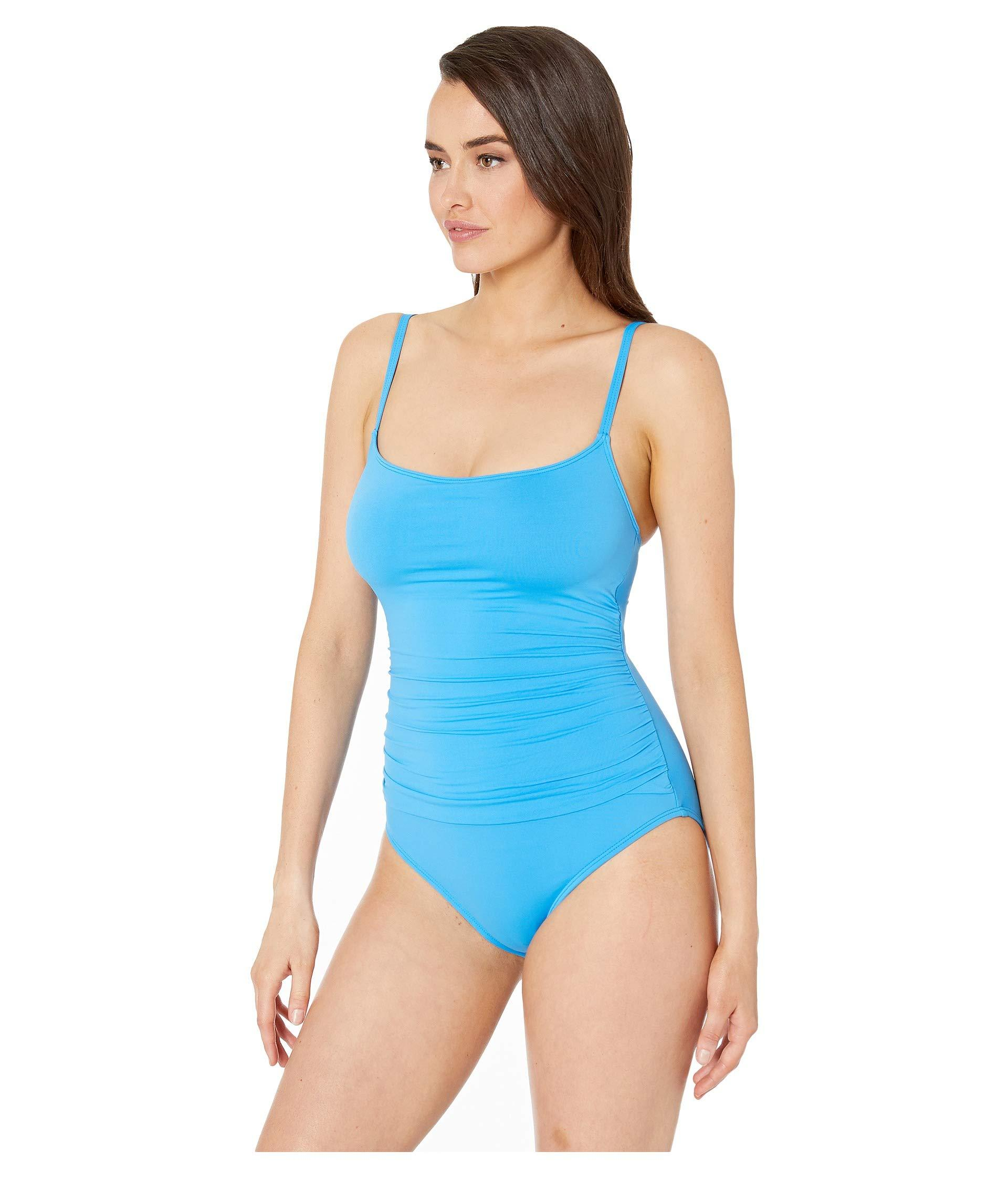 4bd44f5637 Lyst - La Blanca Island Goddess Lingerie Mio (midnight) Women's Swimsuits  One Piece in Blue