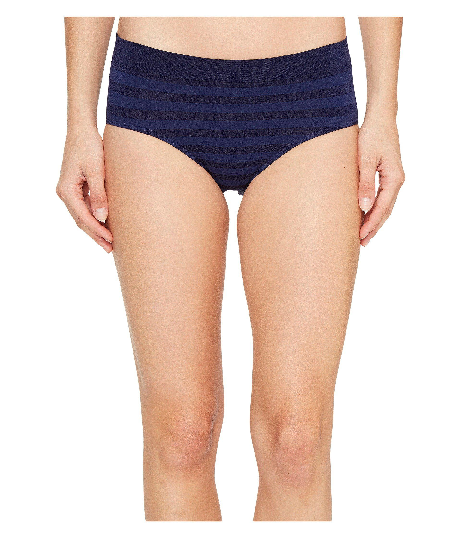 281d46b6195 Jockey. Blue Comfies(r) Matte Shine Hipster (black) Women s Underwear