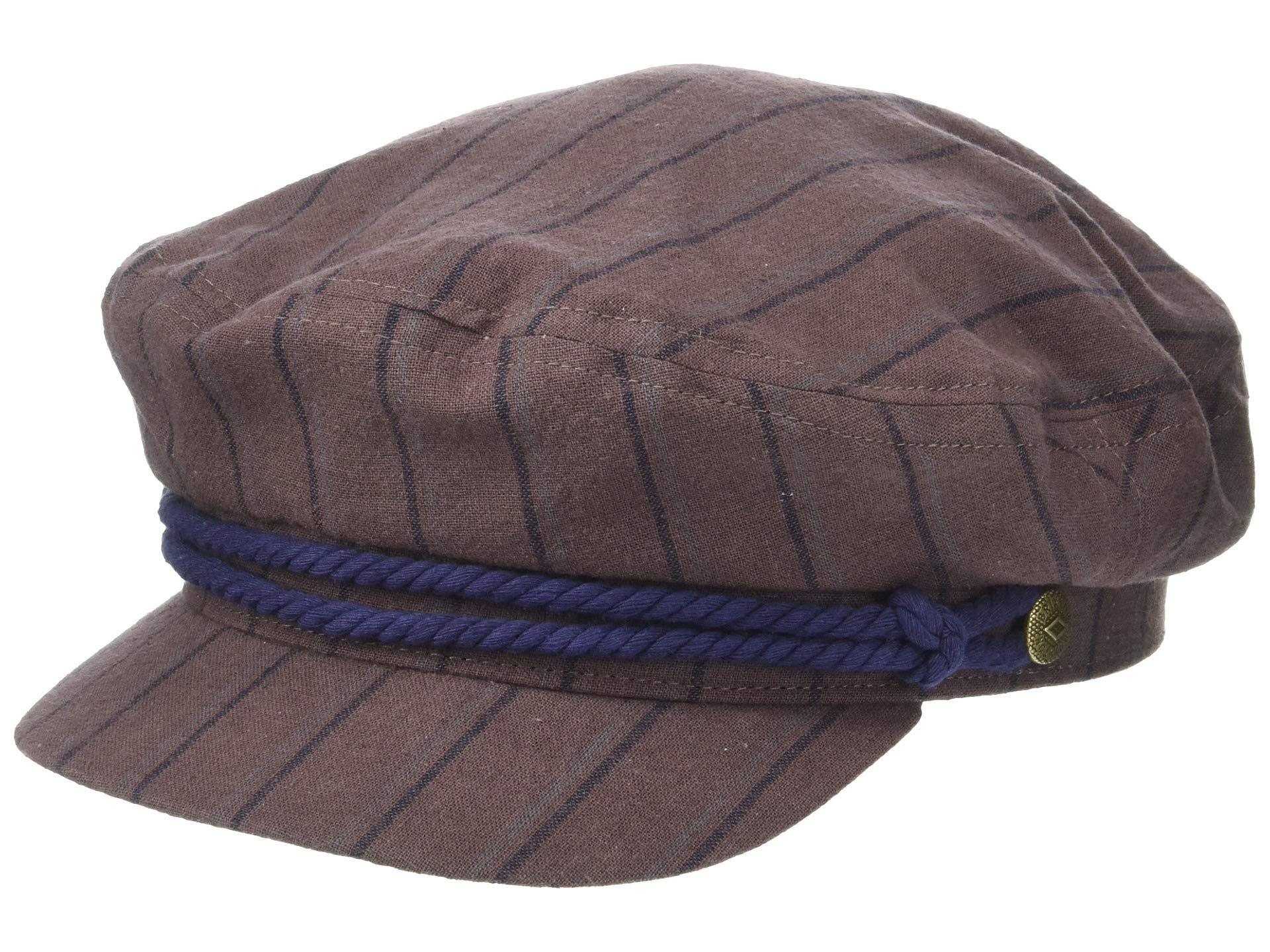 d5cf9c73 Lyst - Brixton Fiddler (black Herringbone Twill) Traditional Hats in ...