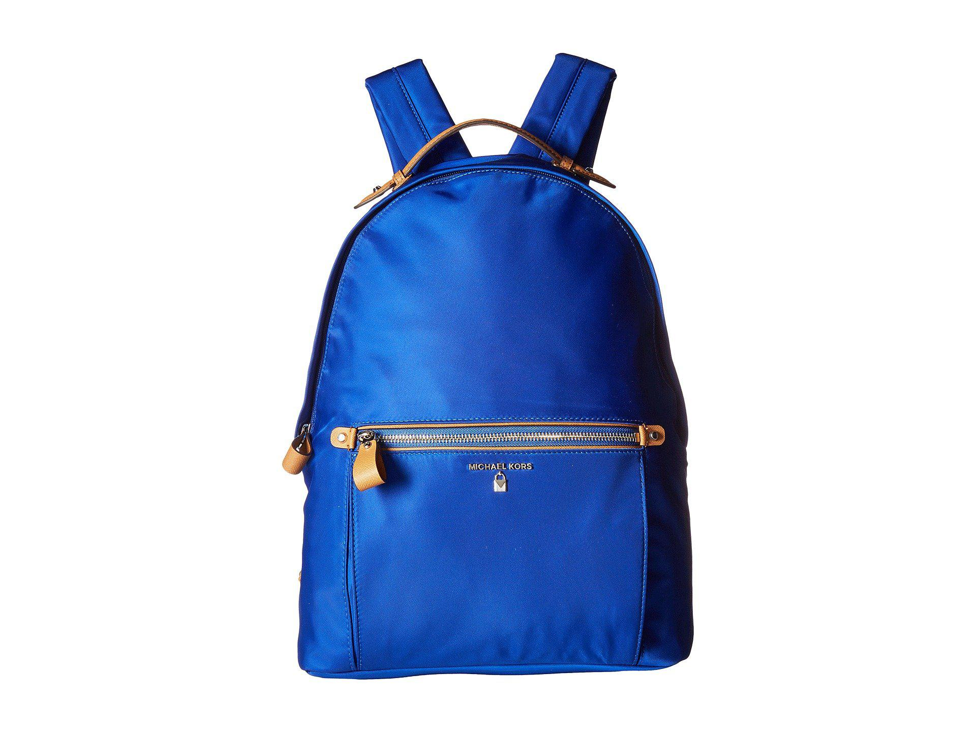 d8e5d1d31d Lyst - MICHAEL Michael Kors Nylon Kelsey Large Backpack (elctric ...