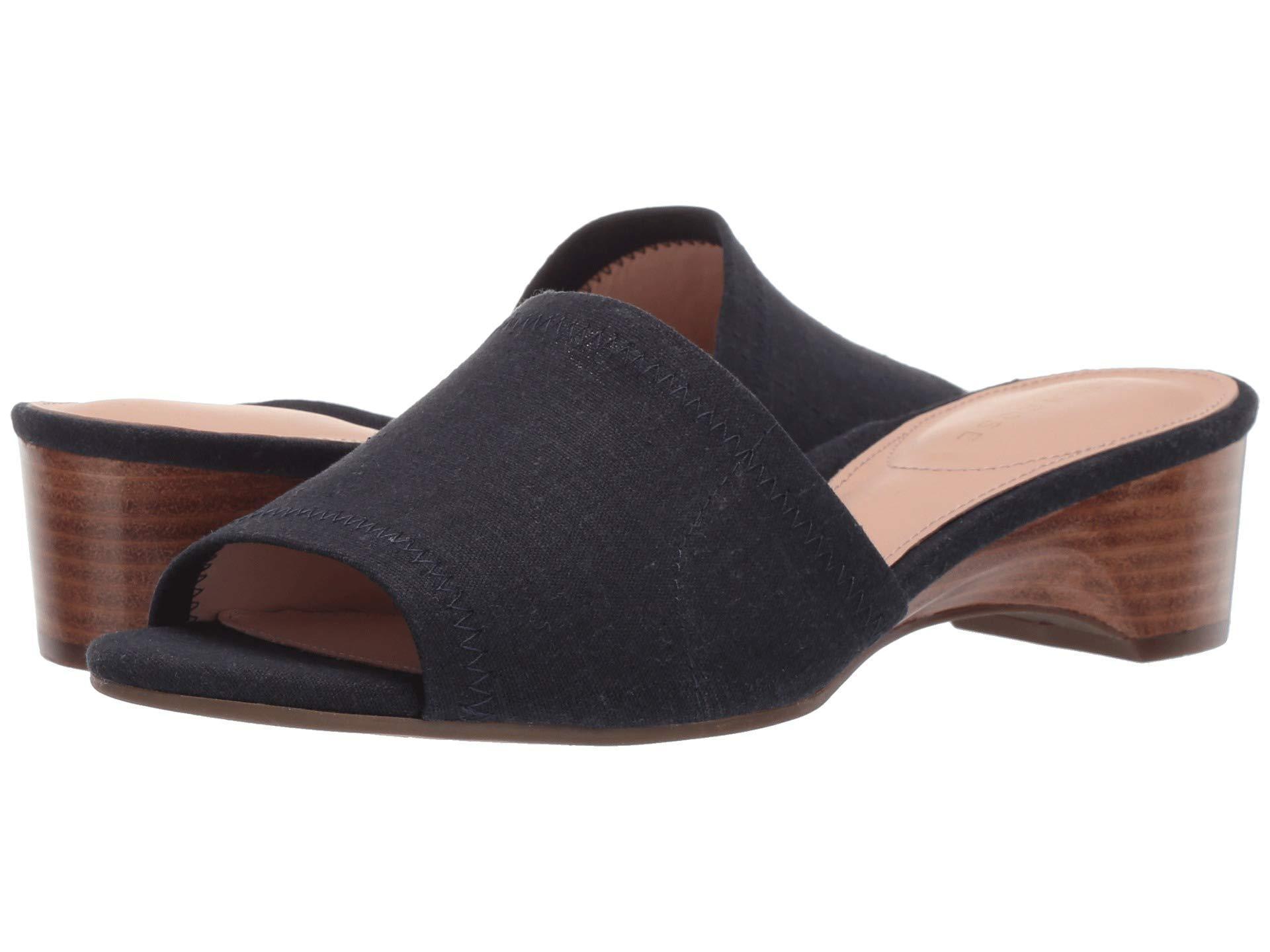 e73ee8bb49a9 Lyst - Taryn Rose Nicolette (midnight Stretch Linen) Women s Sandals