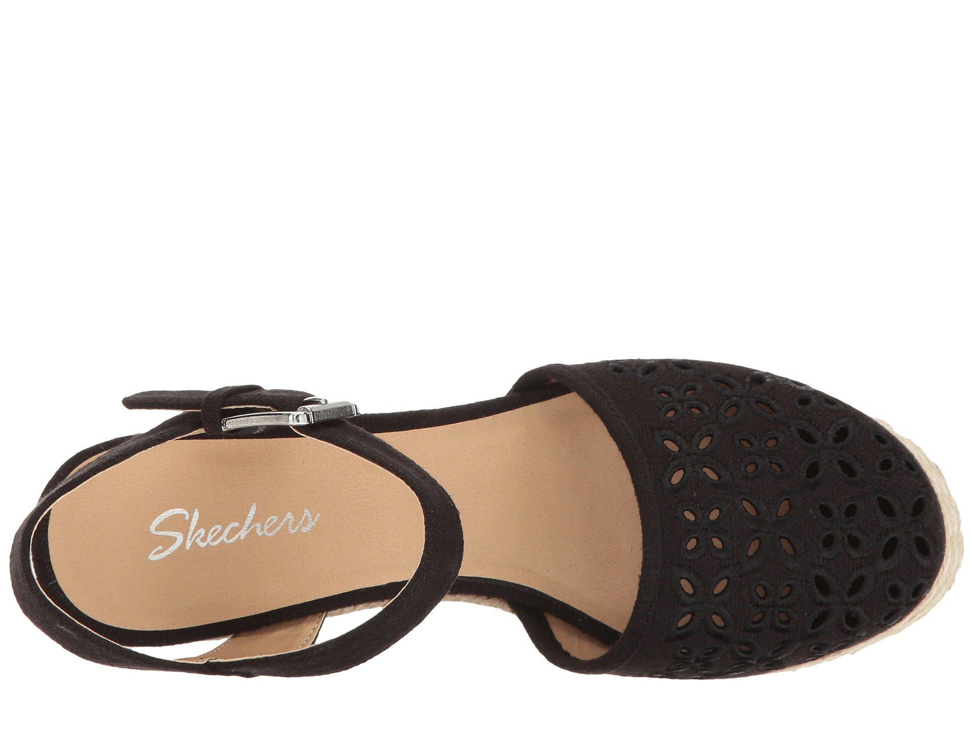5ab91b52e4d Skechers - Turtledove (black) Women s Wedge Shoes - Lyst. View fullscreen
