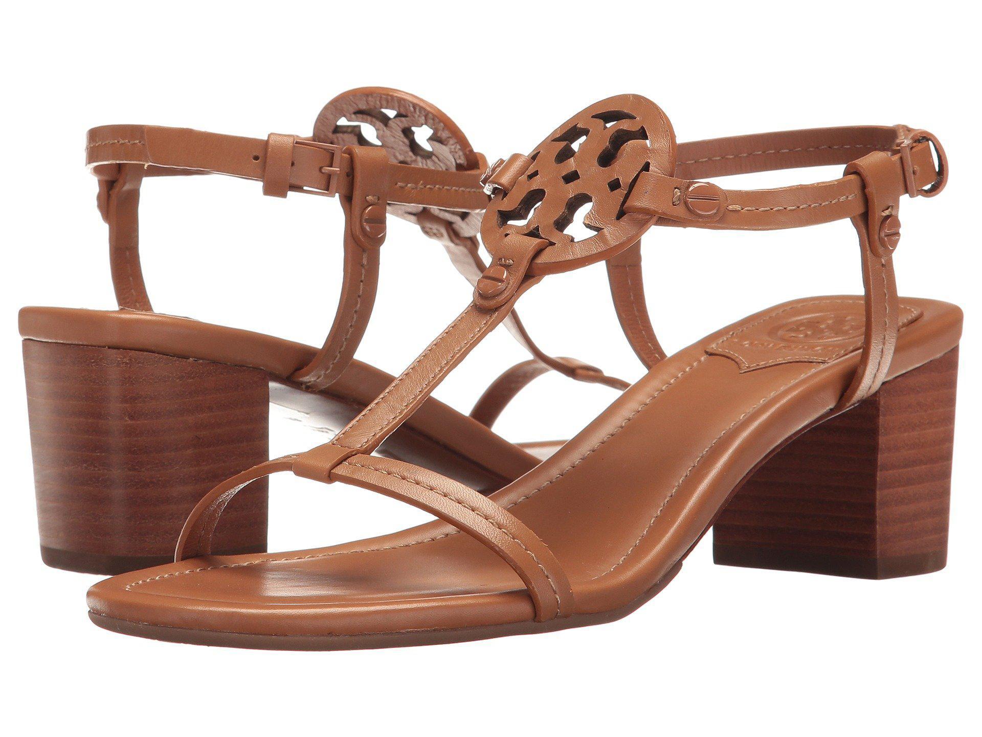 4b21c2d9c02de6 Lyst - Tory Burch Miller 55mm Sandal (royal Tan) Women s Sandals in ...
