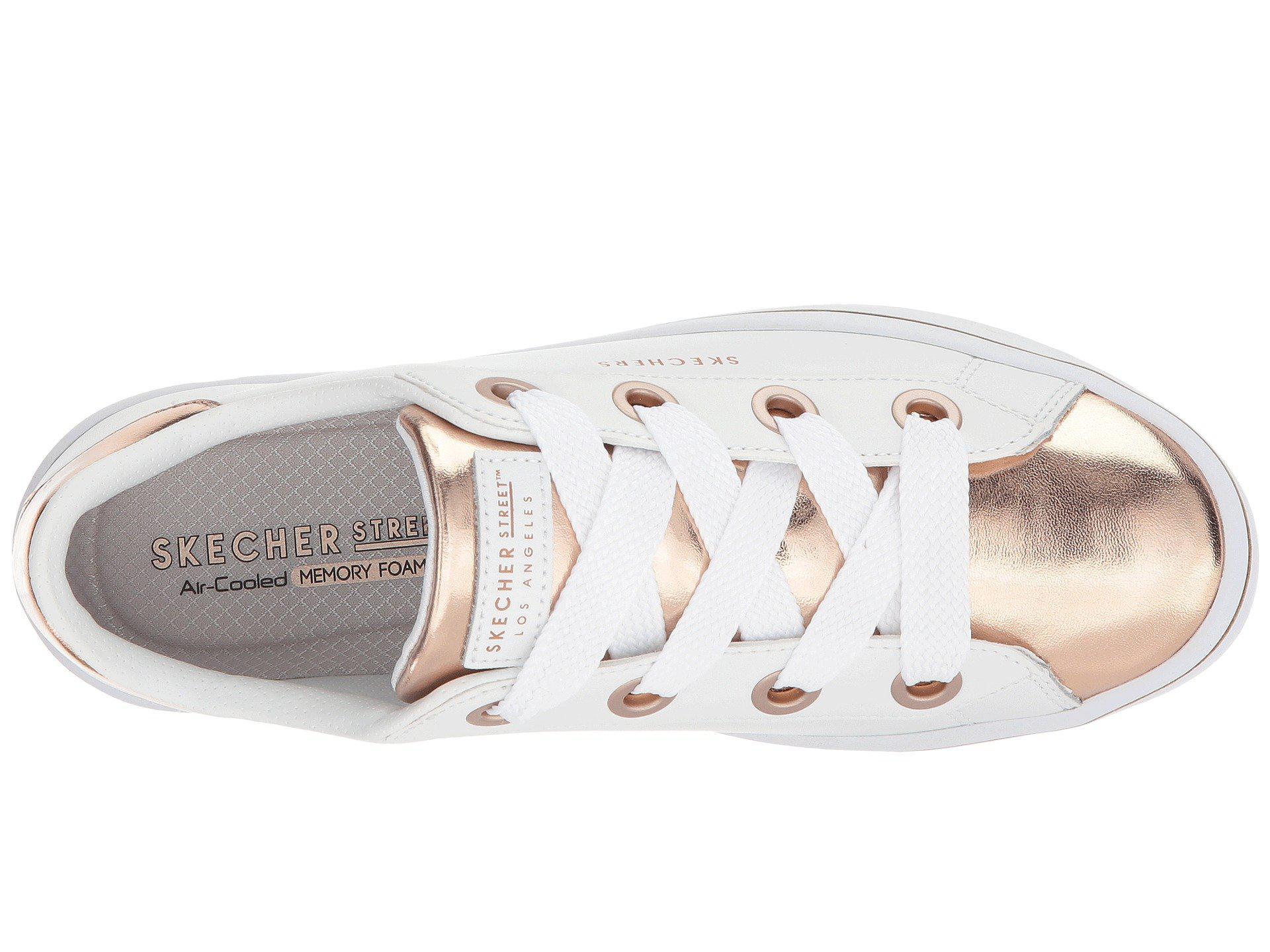349dfb27a37e Skechers - Hi-lite - Medal Toes (white rose Gold) Women s Lace. View  fullscreen