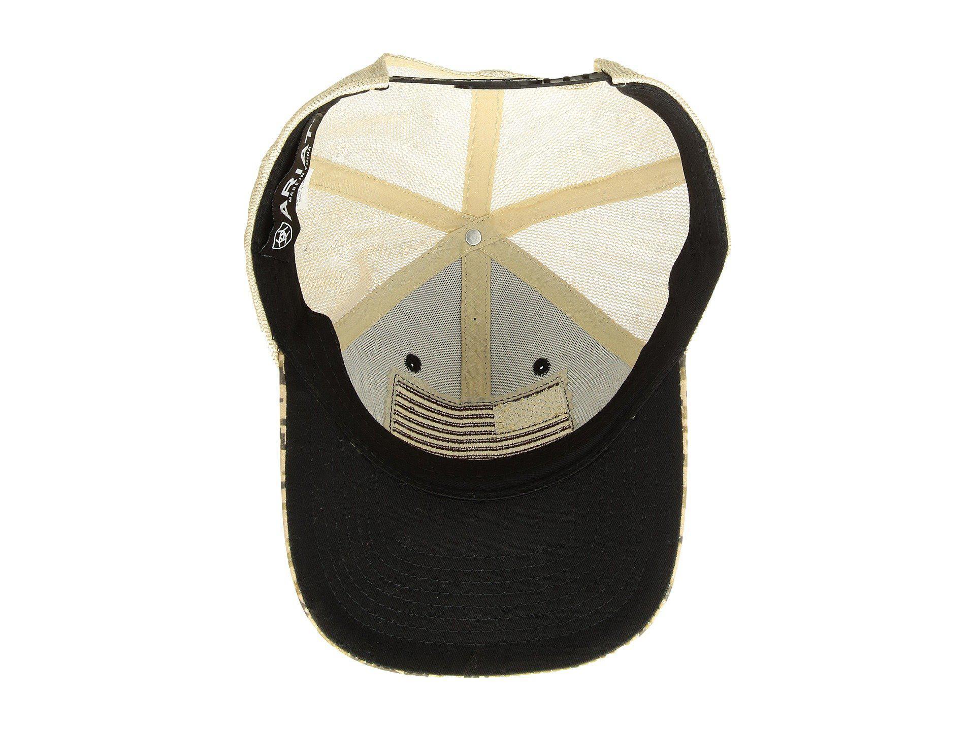 979adcebeb0 Lyst - Ariat Sport Patriot Snapback Cap (brown) Caps in Brown for Men