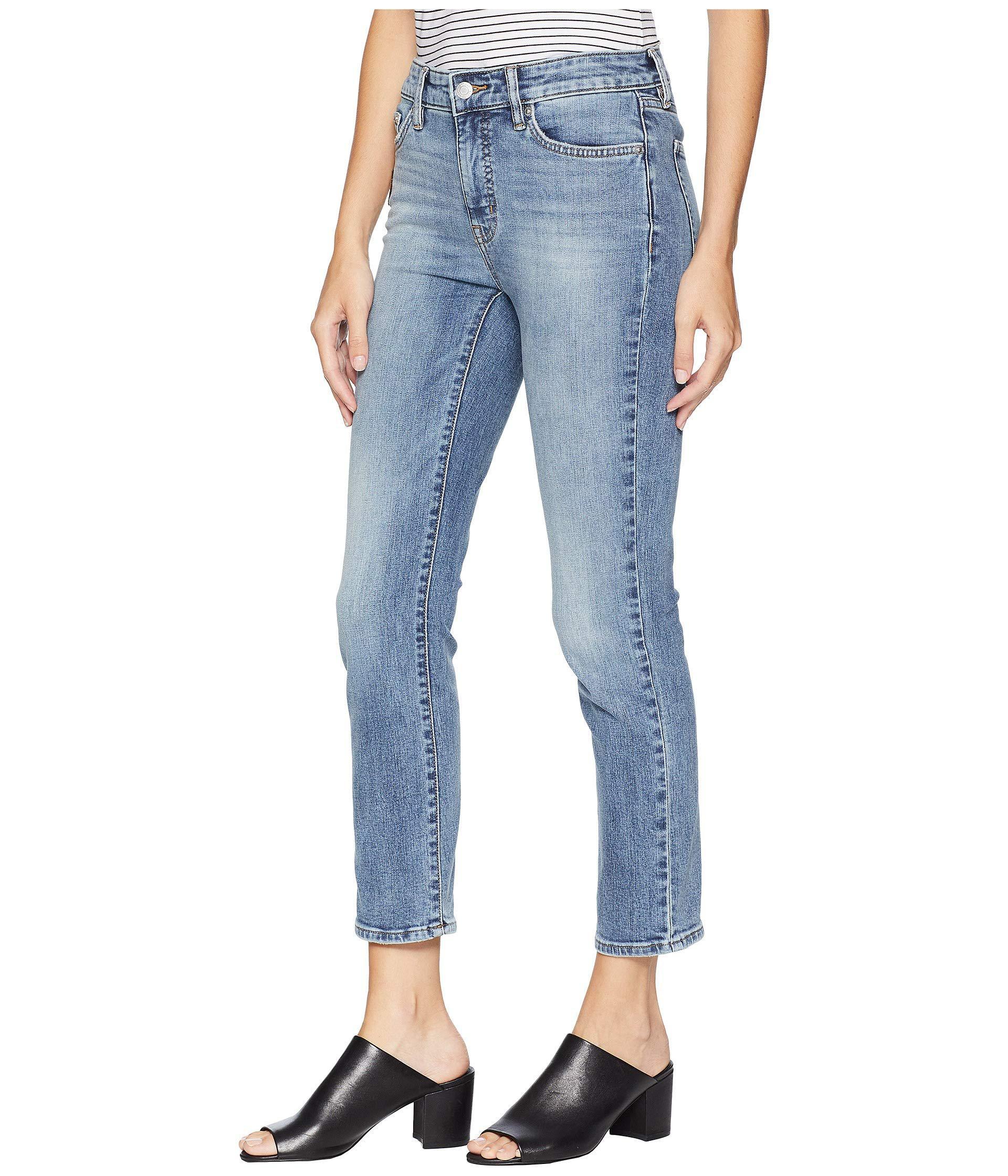 fe99e91db9d6c Lyst - Lauren by Ralph Lauren Premier Straight Ankle Jeans (light Authentic  Wash) Women s Jeans in Blue