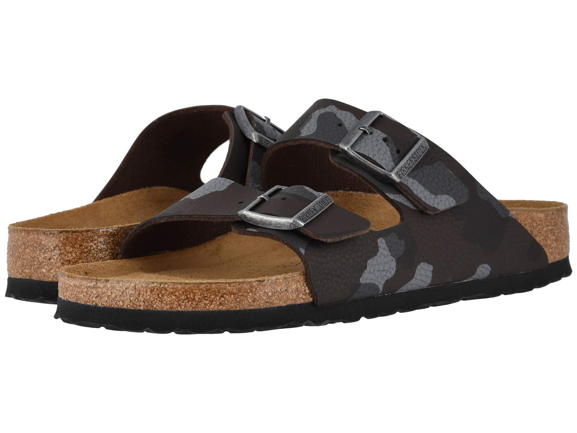 c160380b27c Lyst - Birkenstock Arizona Soft Footbed (desert Soil Camo Brown ...