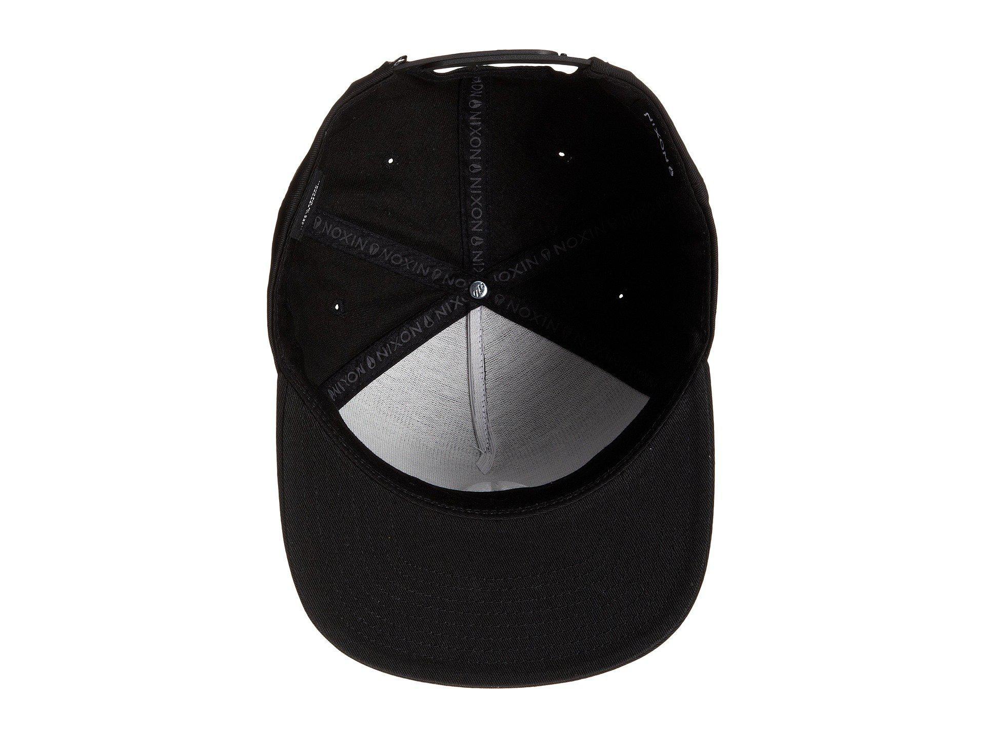 5082d75d2 Lyst - Nixon Simon Snapback Hat in Black