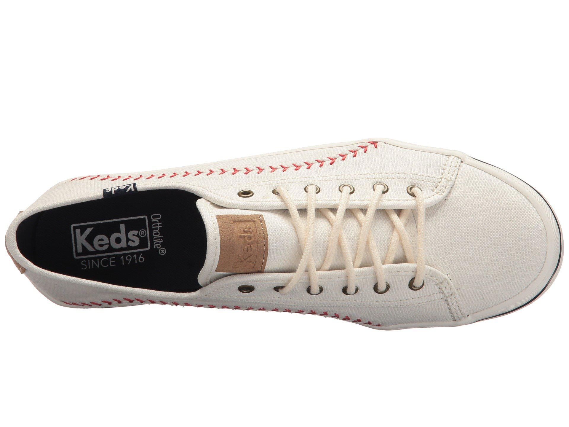 25ef8811e82 Keds - Multicolor Kickstart Pennant (cream) Women s Lace Up Casual Shoes -  Lyst. View fullscreen