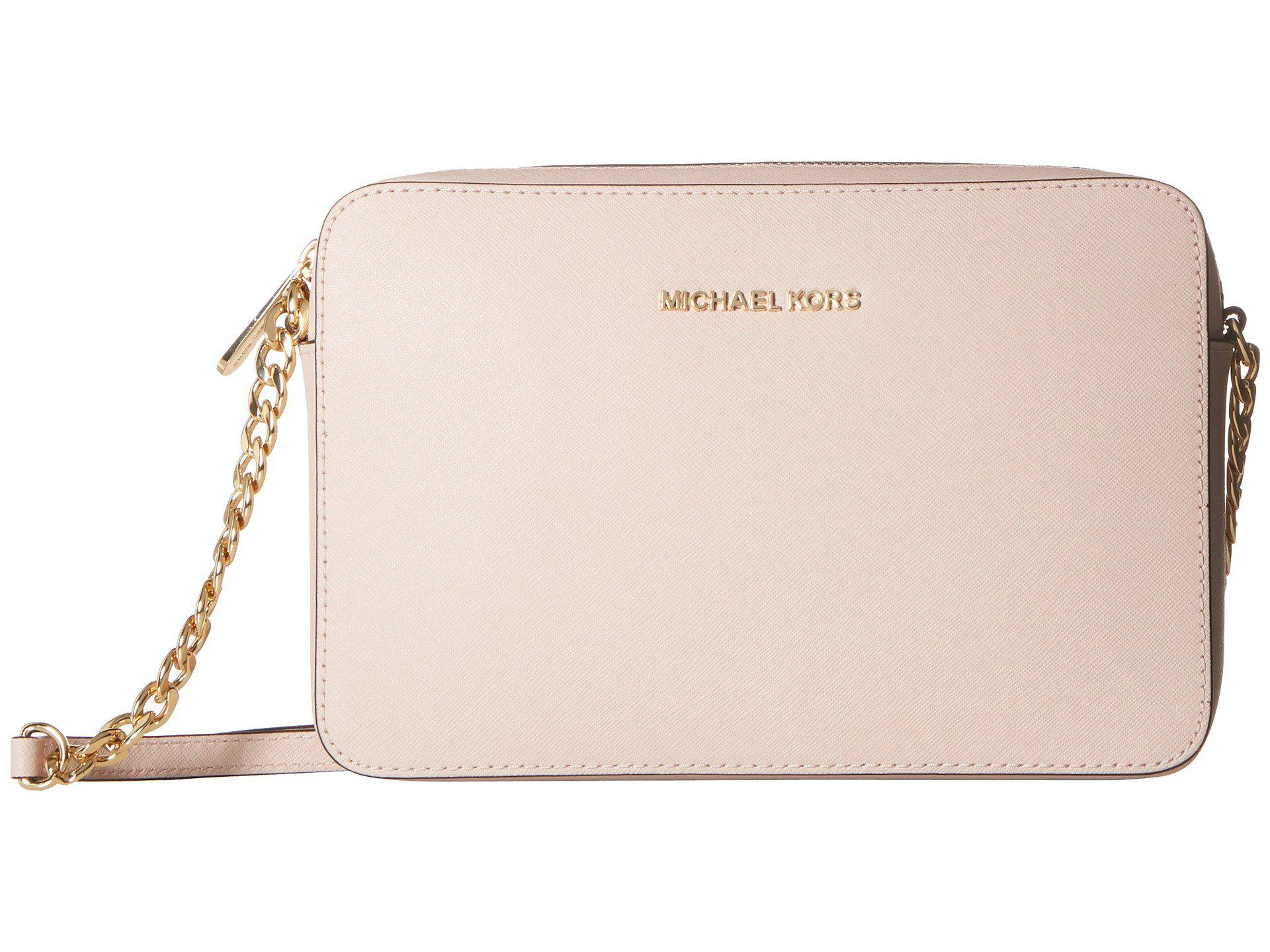b4358cbcf715 MICHAEL Michael Kors - Jet Set Travel Large East/west Crossbody (soft Pink).  View fullscreen