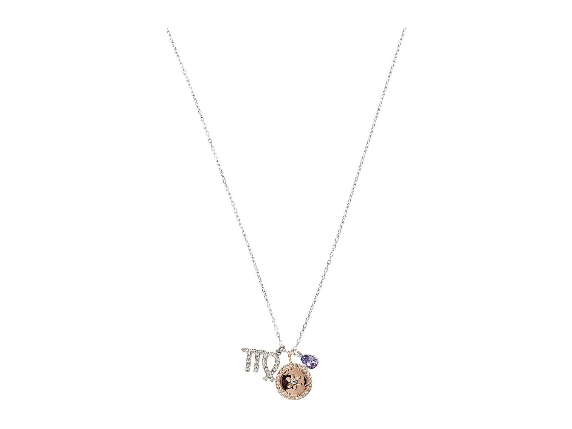 wearlex ac constellation round zodiac products necklace virgo