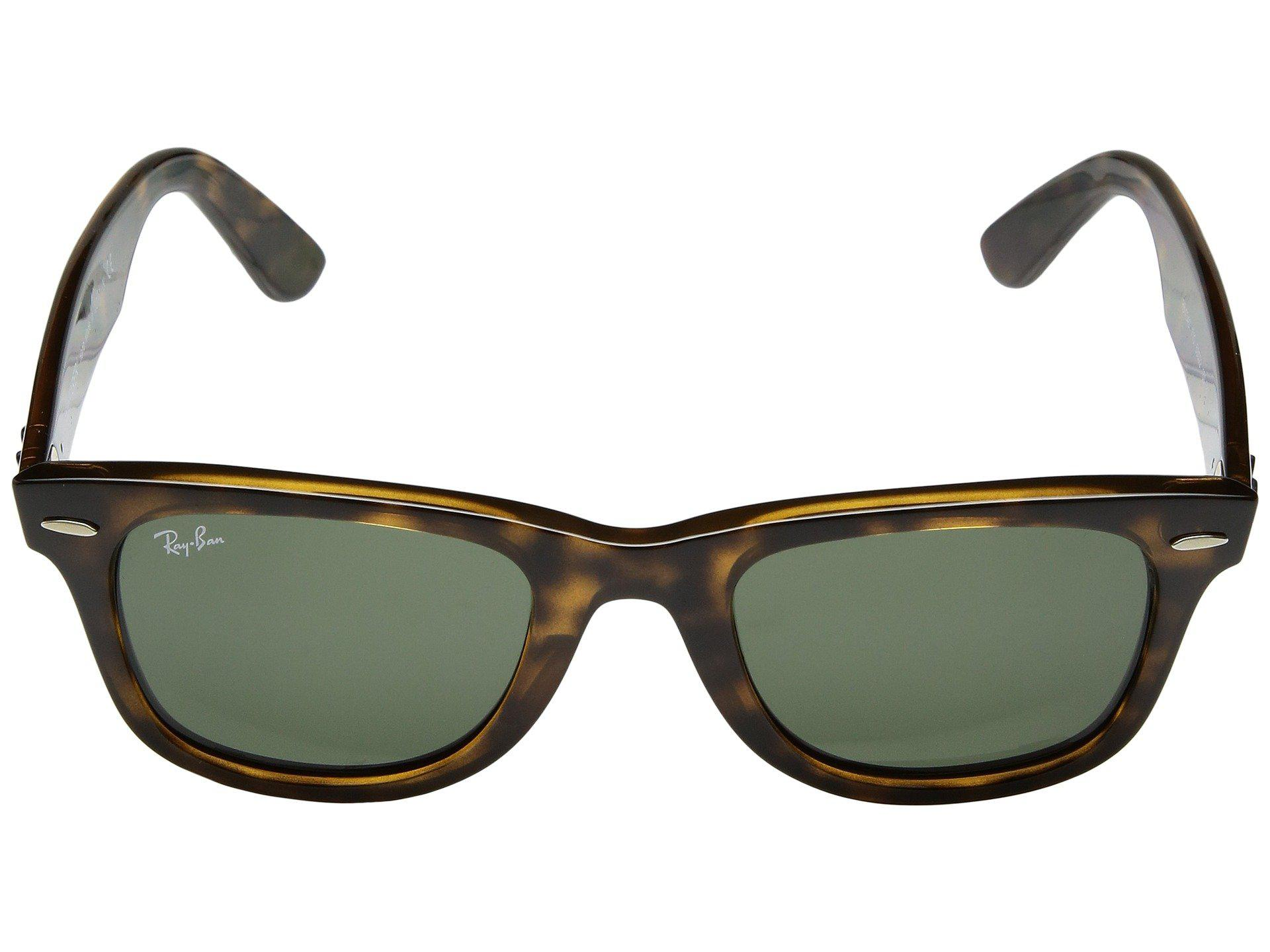 af16582e7d91 Ray-Ban - Multicolor Wayfarer Ease Rb4340 50mm (black polarized Green Classic  G. View fullscreen