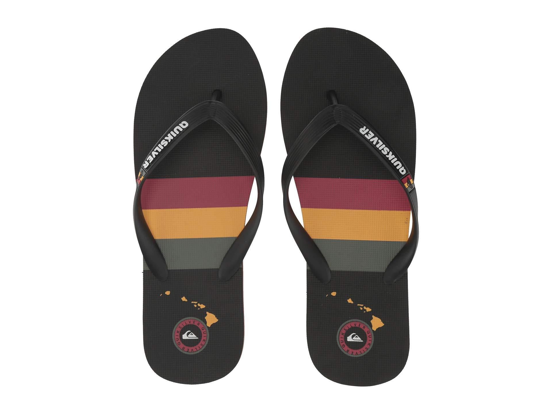 15b1e8d700593b Quiksilver - Molokai Print (black grey white) Men s Sandals for Men -. View  fullscreen