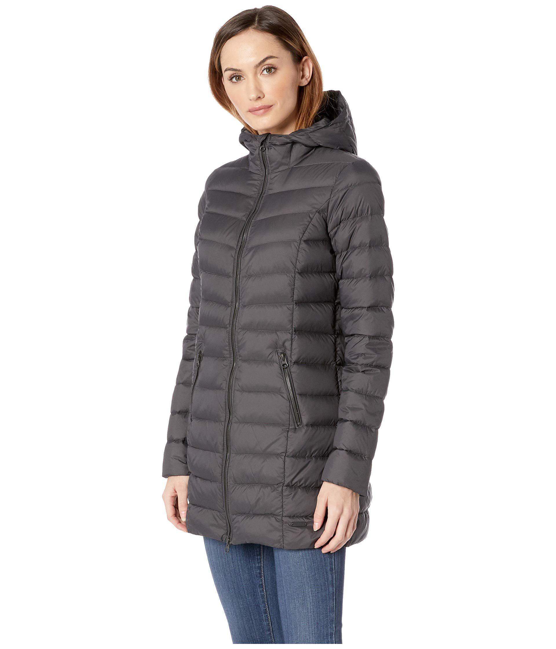 Lyst - Ilse Jacobsen Light Down Coat (dark Antracite) Women s Coat in Gray 1689da9a62