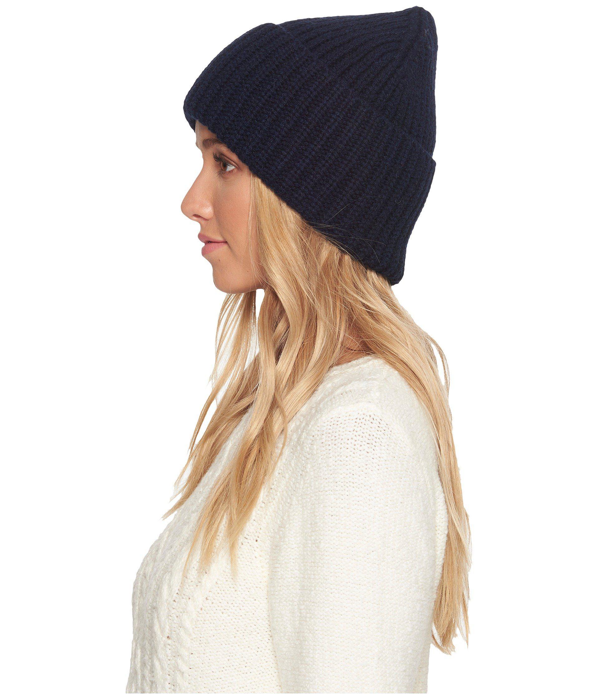 452bc7e8ea2c1 UGG Cardi Stitch Oversized Cuff Hat in Blue - Lyst