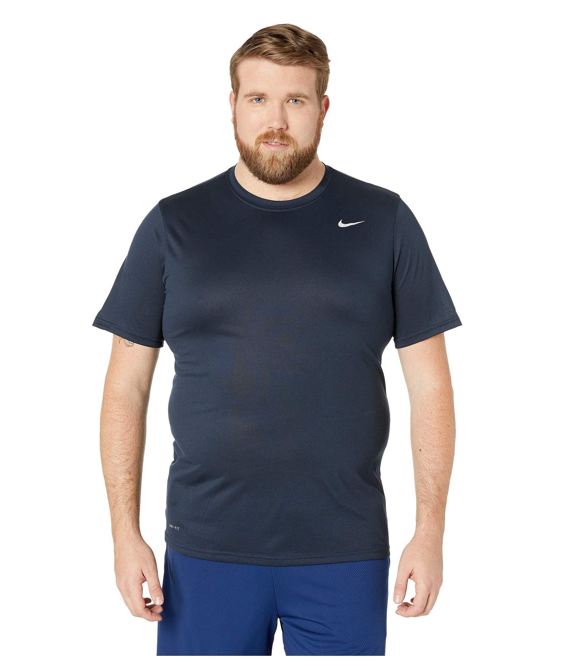 a425a156 Nike - Big Tall Legend 2.0 Short Sleeve Tee (carbon Heather/black/black.  View fullscreen