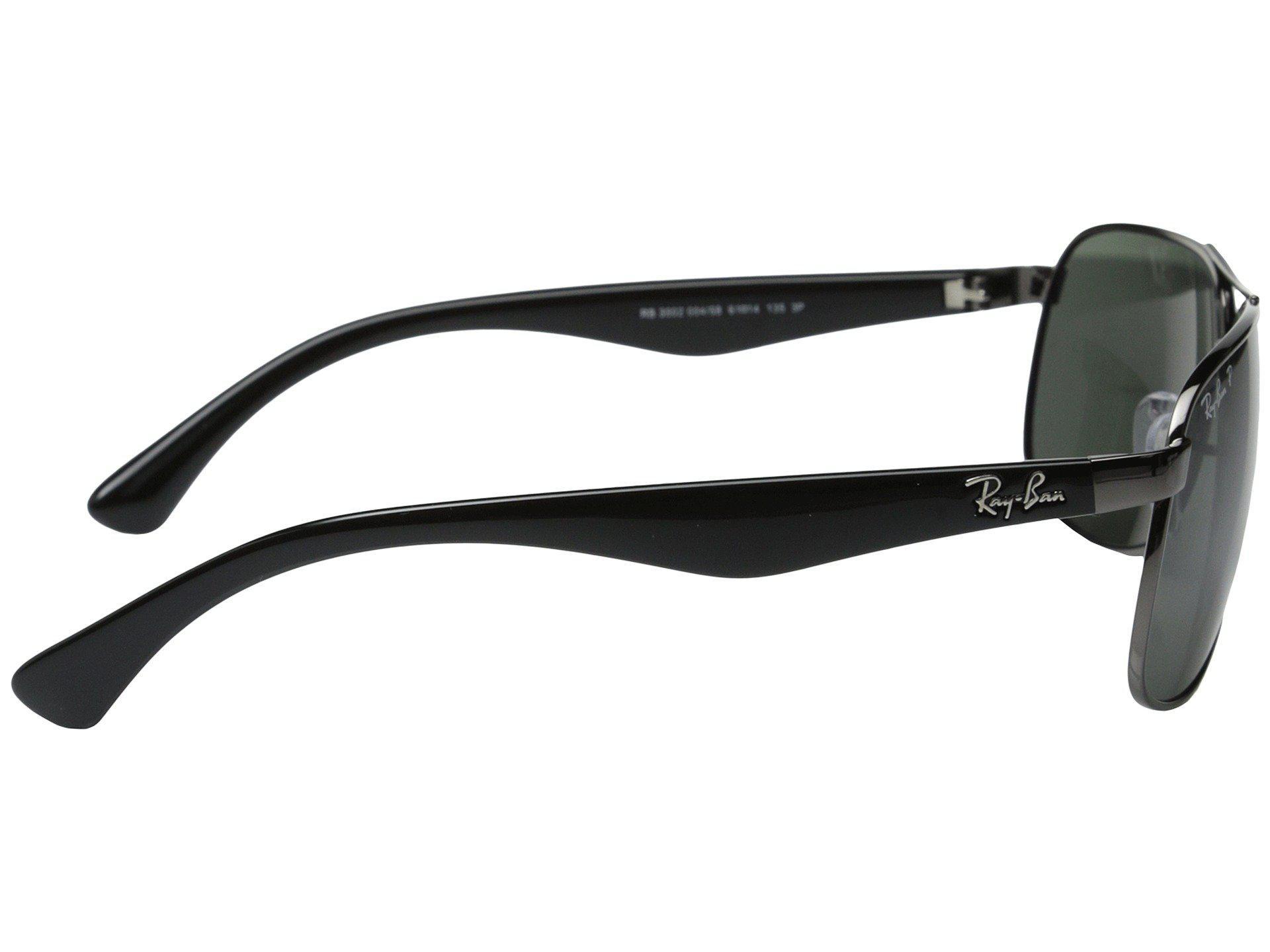 da0a9b0a99 Ray-Ban - Black Rb3502 Polarized 61mm (gunmental polarized) Polarized  Fashion Sunglasses. View fullscreen