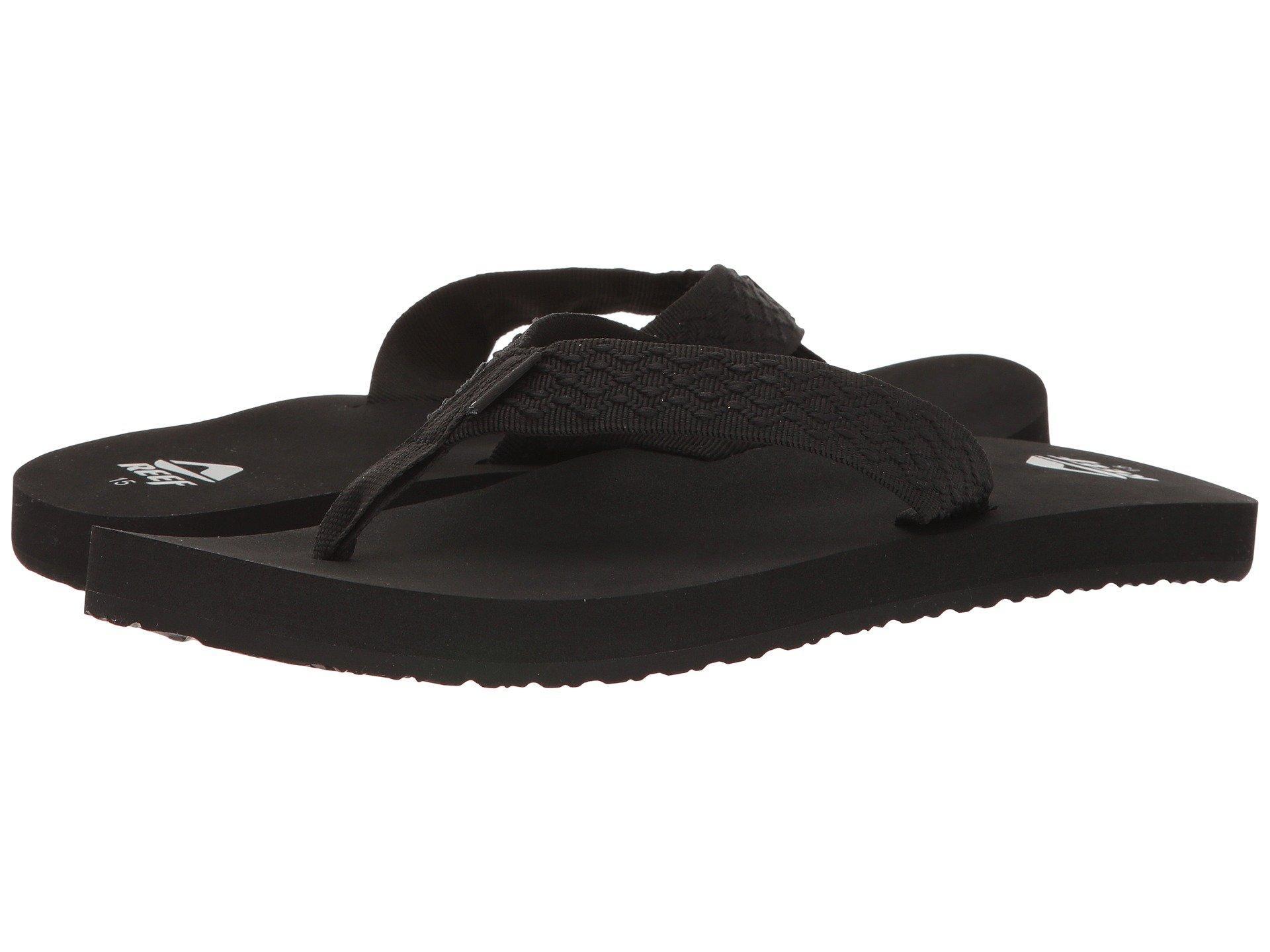 55bd9d85613 Lyst - Reef Smoothy (vintage Blue) Men s Sandals in Black for Men
