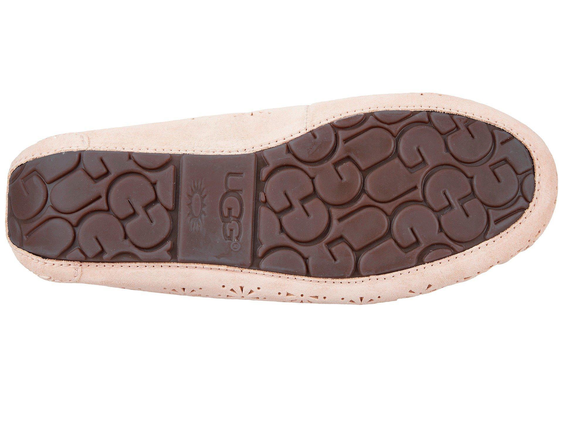 4995bbbeba1 Ugg Pink Dakota Sunshine Perf (tropical Peach) Women's Slip On Shoes