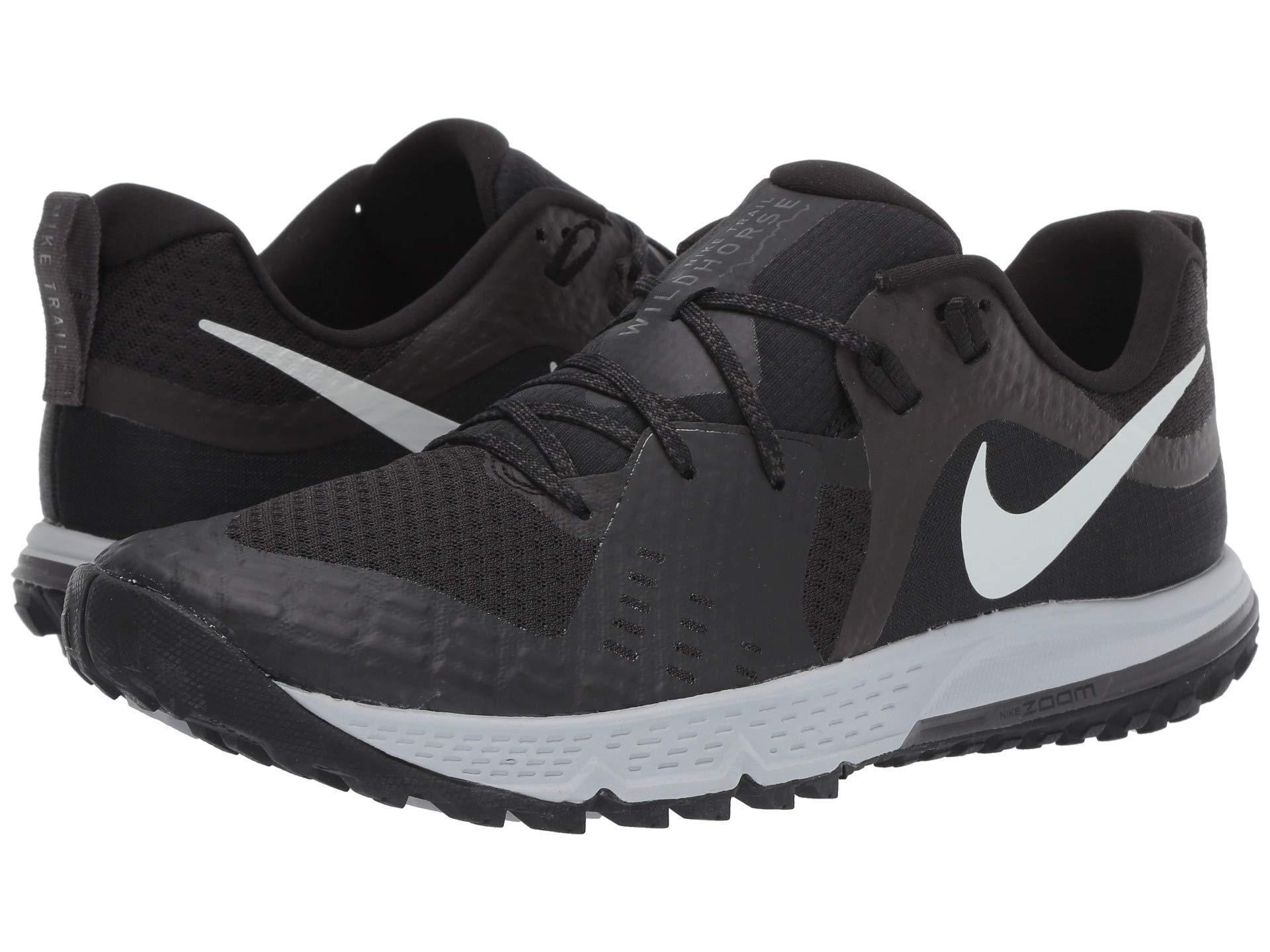 f962bba5641ad Nike. Gray Air Zoom Wildhorse 5 (black barely Grey thunder Grey wolf Grey) Men s  Running Shoes