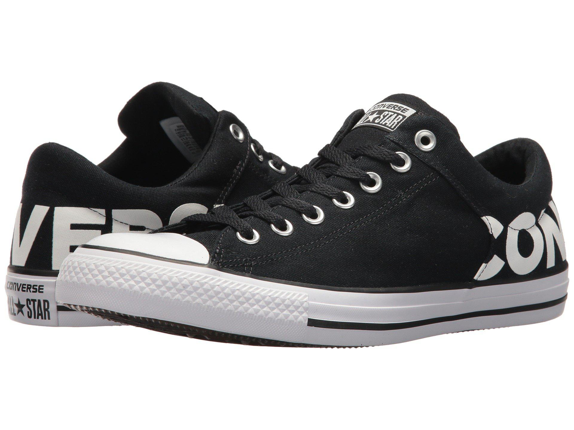 78d7f3b024b Converse Chuck Taylor® All Star® High Street Wordmark Ox in Black ...