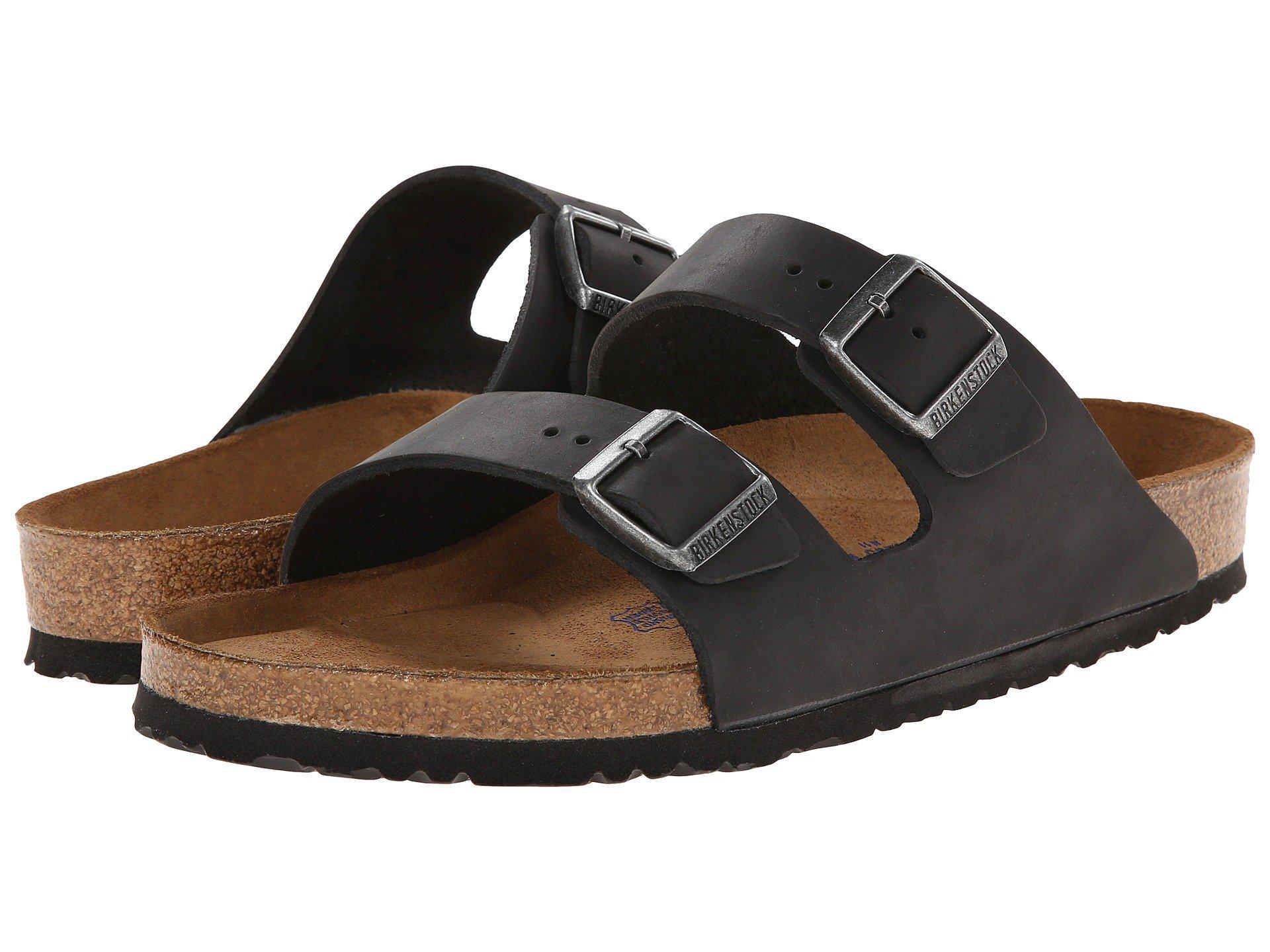 a23ef6f6fe3a Birkenstock - Black Arizona Soft Footbed - Leather (unisex) (habana) Sandals  -. View fullscreen