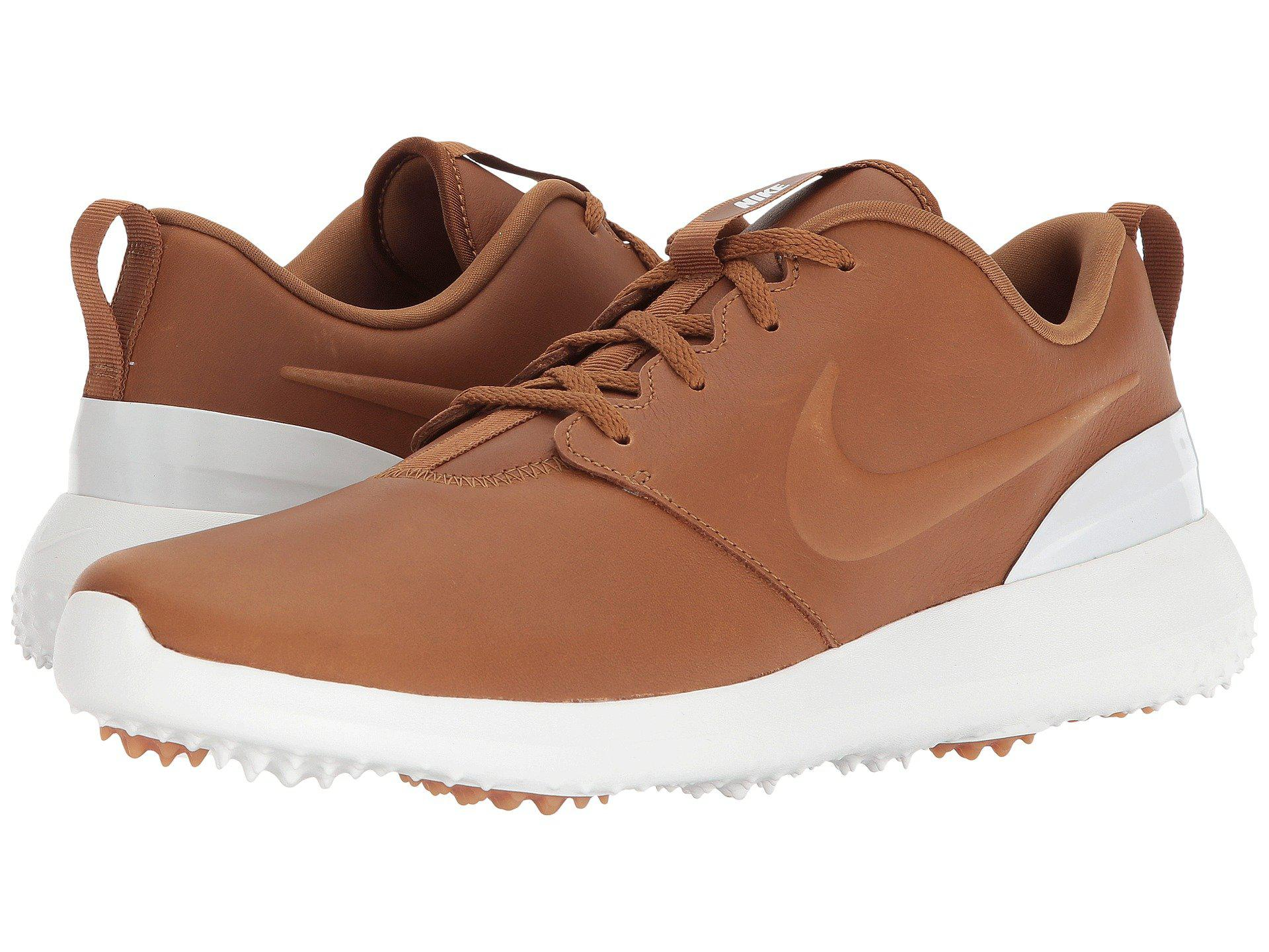 Lyst - Nike Roshe G Prm (brown brown summit White) Men s Golf Shoes ... 3791ede2a