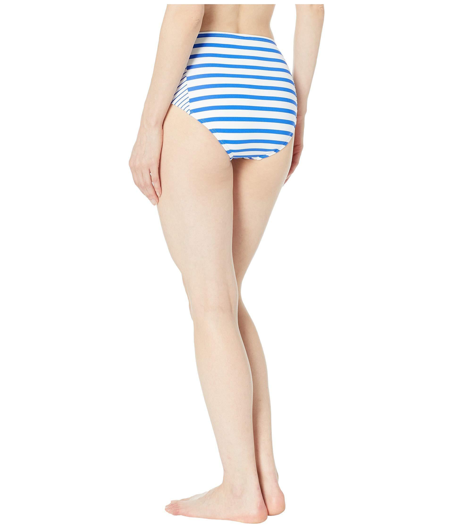 f15952cdbe Tommy Bahama - Beach Glass Stripe High-waisted Bottoms (beach Glass Blue)  Women's. View fullscreen
