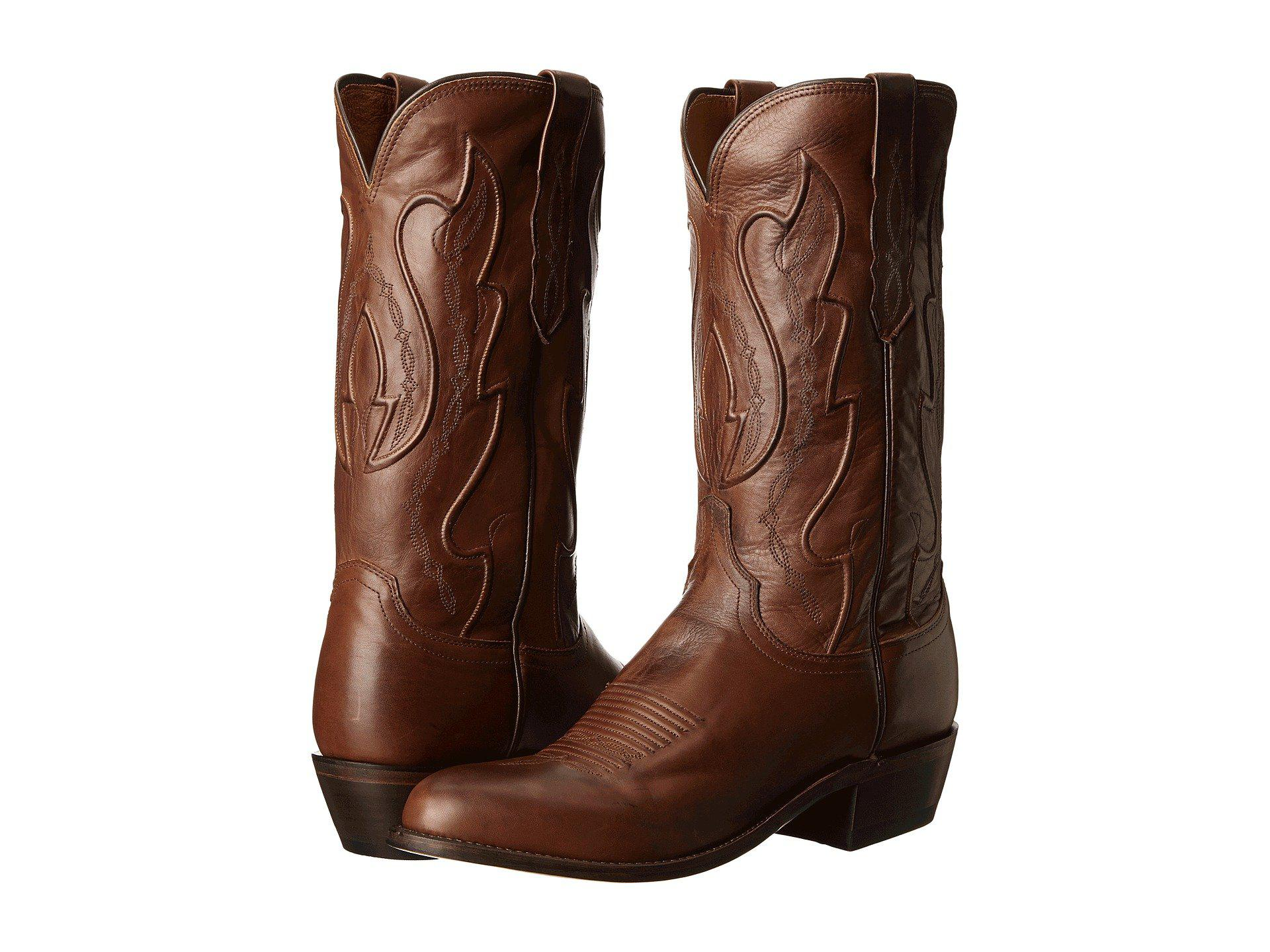 Lyst Lucchese M1004 R4 Tan Ranch Hand Cowboy Boots In