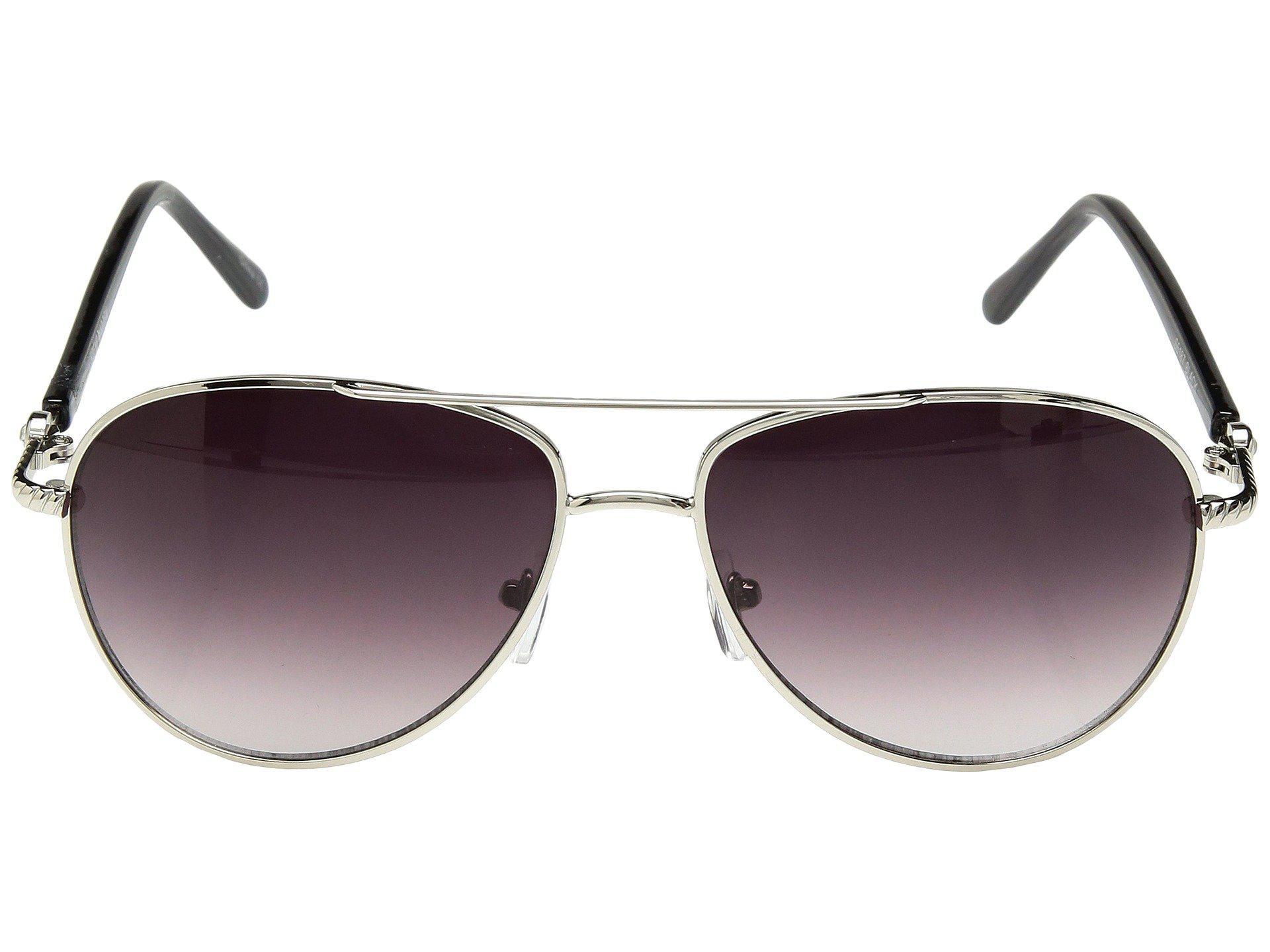 3a46b31dd Steve Madden - Black Livey (rose Gold) Fashion Sunglasses - Lyst. View  fullscreen