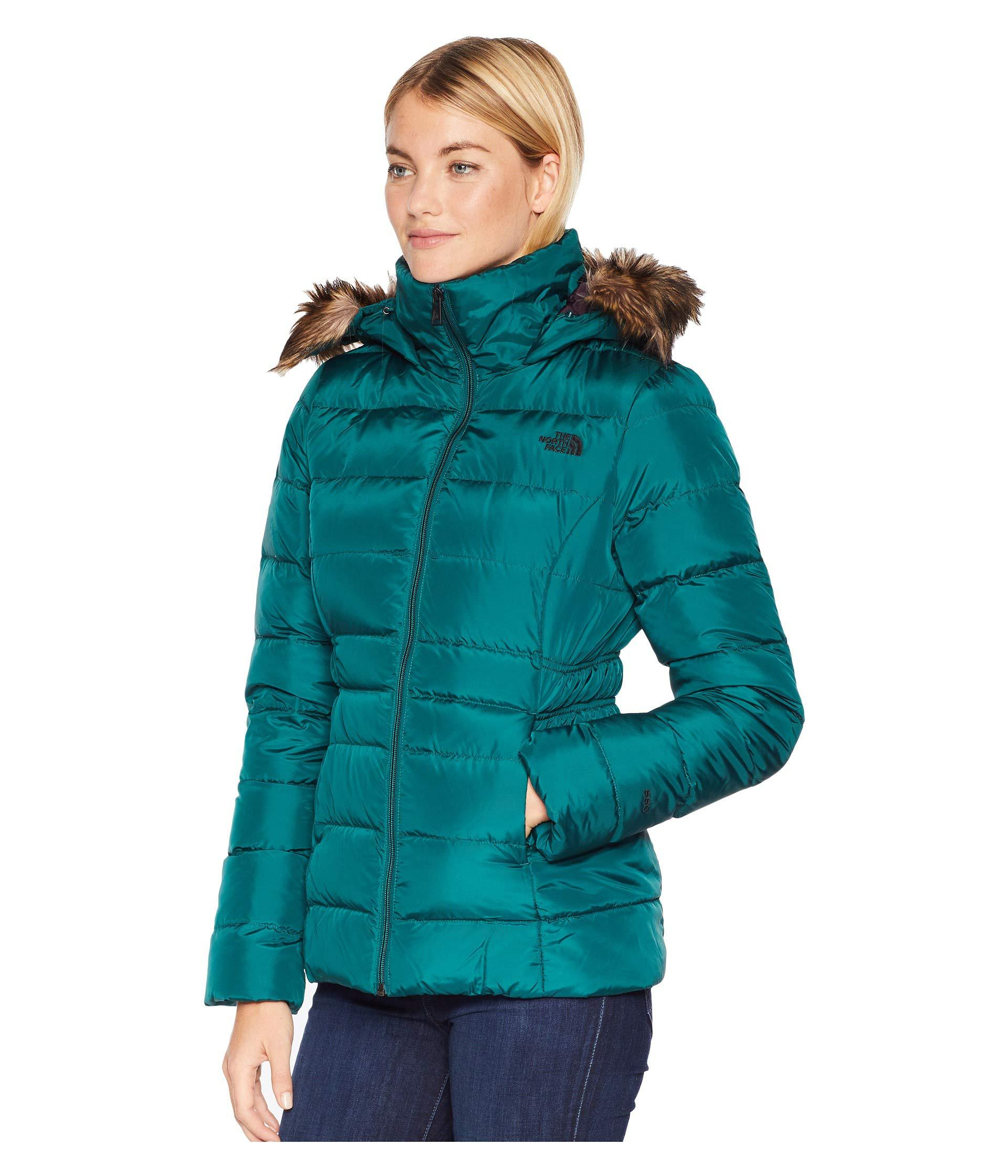 8d4d93fa78b0a Lyst - The North Face Gotham Jacket Ii (botanical Garden Green) Women s Coat  in Green