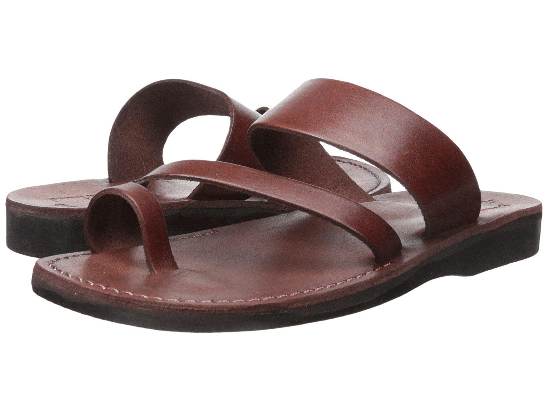 2653ea58323661 Lyst - Jerusalem Sandals Zohar - Mens (brown) Men s Shoes in Brown ...