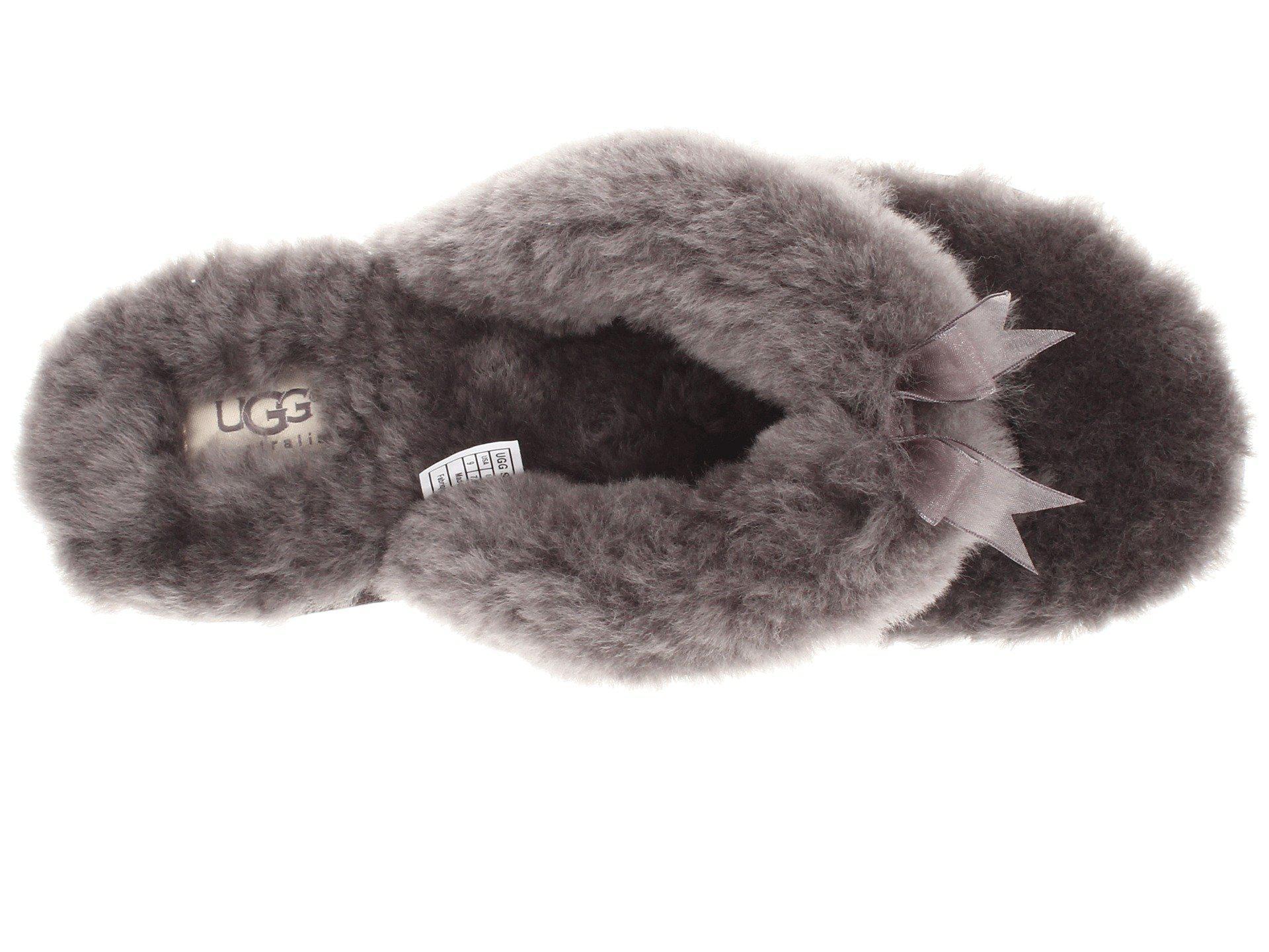 ad5eb9c5c52fed Lyst - UGG Fluff Flip Flop Ii in Gray