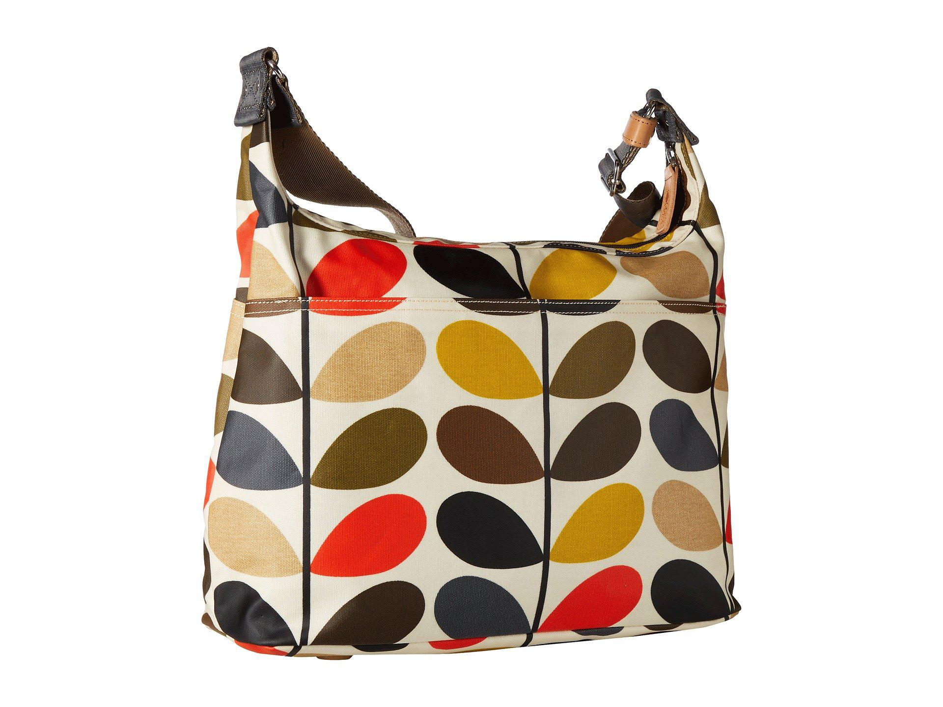 f8b2cd6dfd4 Lyst - Orla Kiely Classic Multi Stem Sling Baby Bag (multi) Handbags