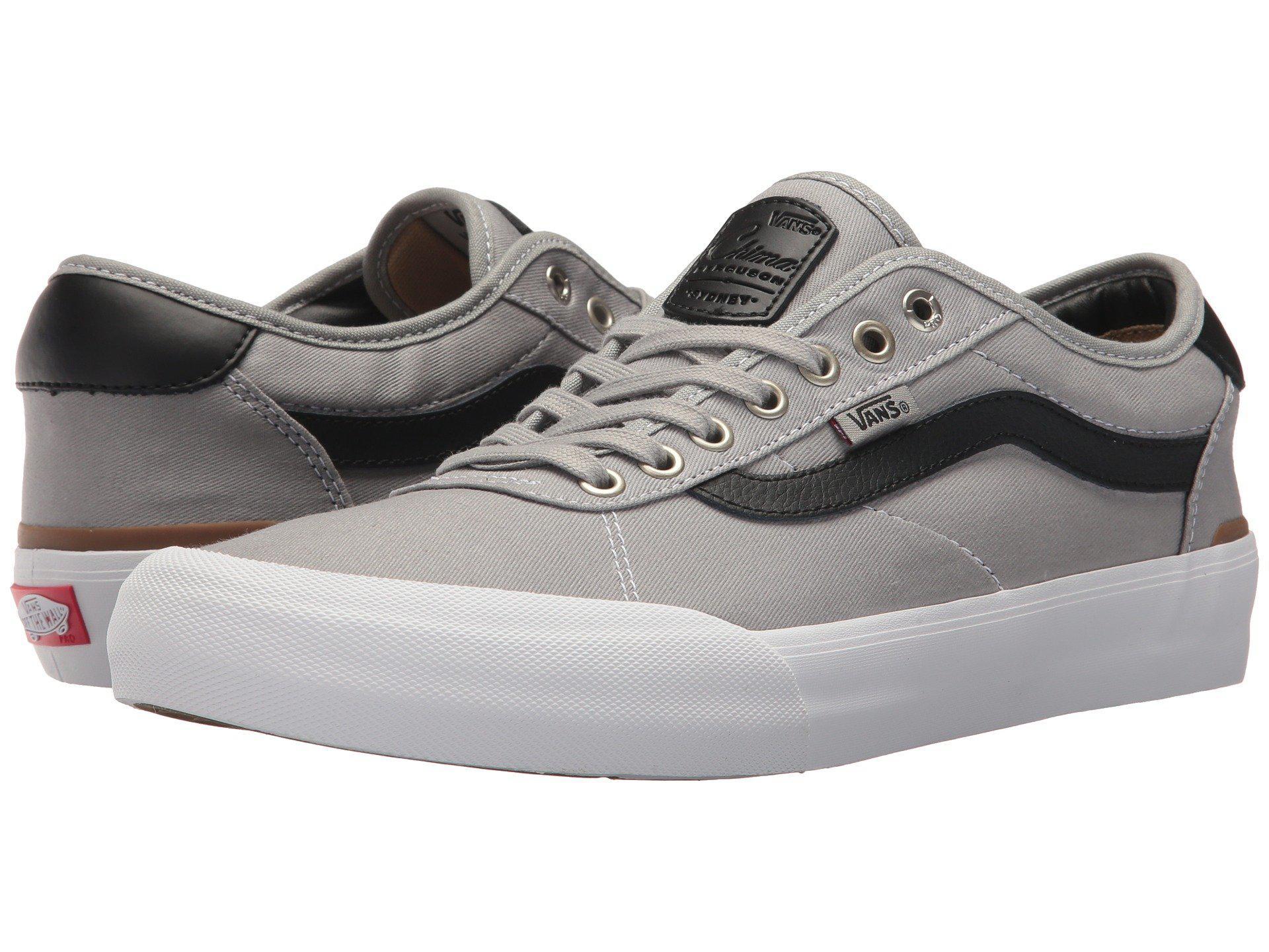 fc963ab1db2 Lyst - Vans Chima Pro 2 (black (canvas) white) Men s Skate Shoes for Men