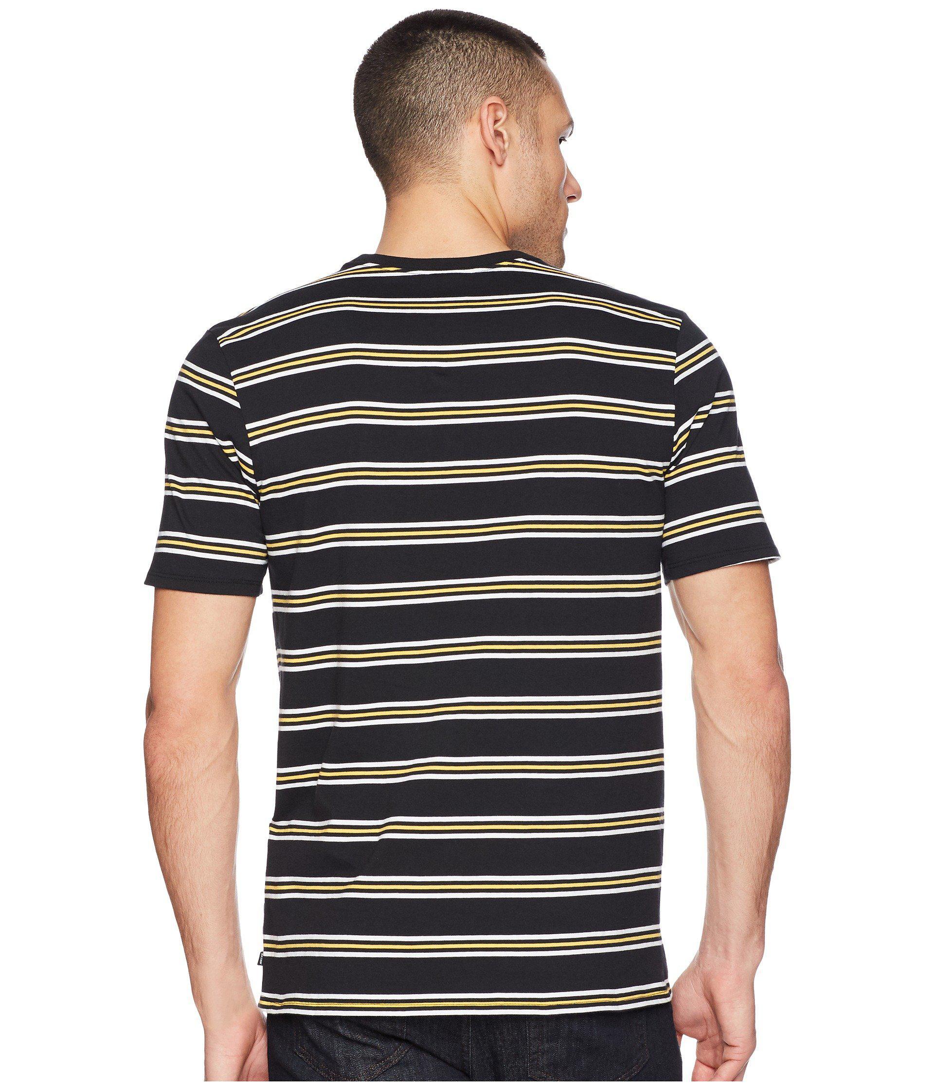 ba9760fc4f9989 Lyst - Nike Sb Tee Summer Stripe (black black hyper Royal) Men s T ...