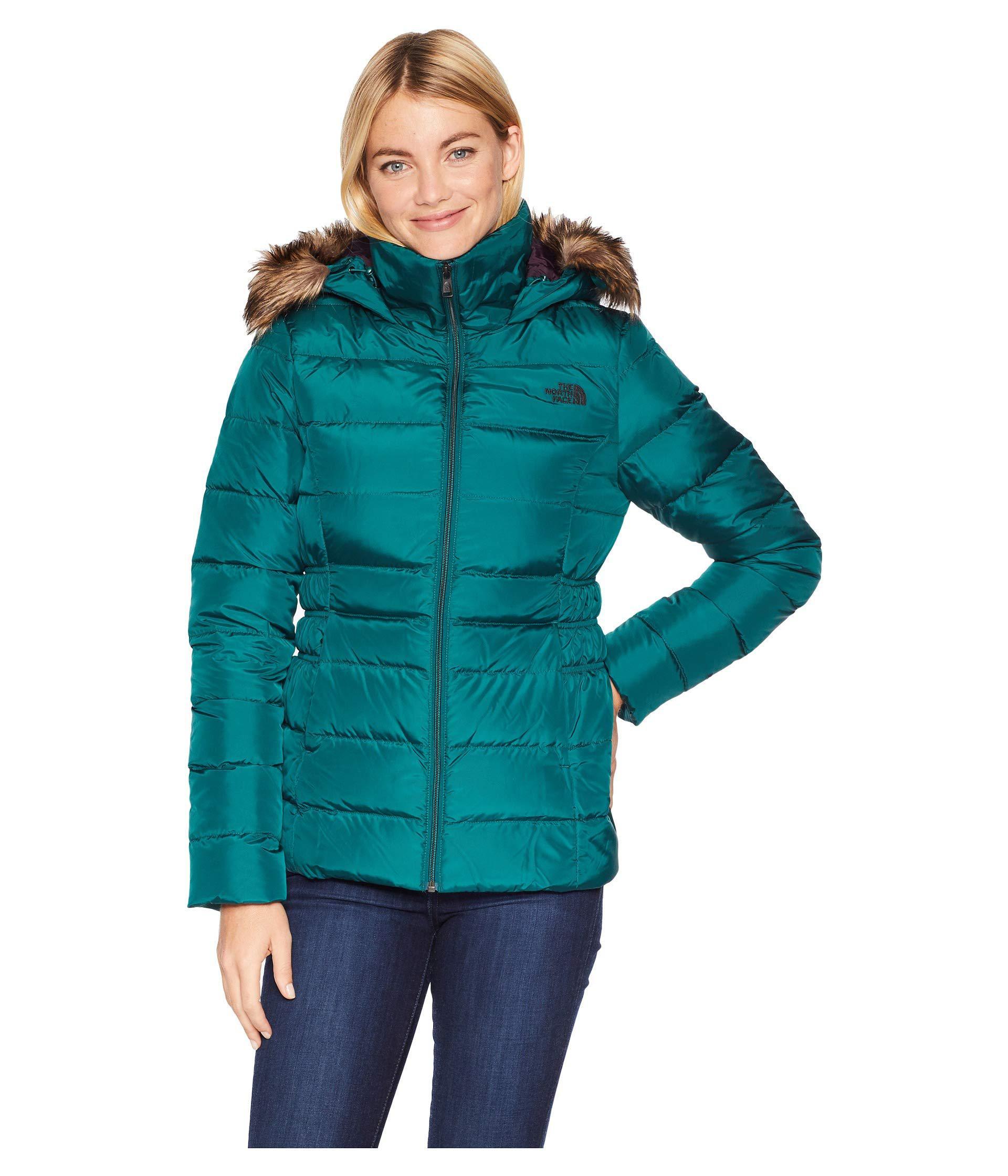 9e9b2a2d5d036 Lyst - The North Face Gotham Jacket Ii (botanical Garden Green ...